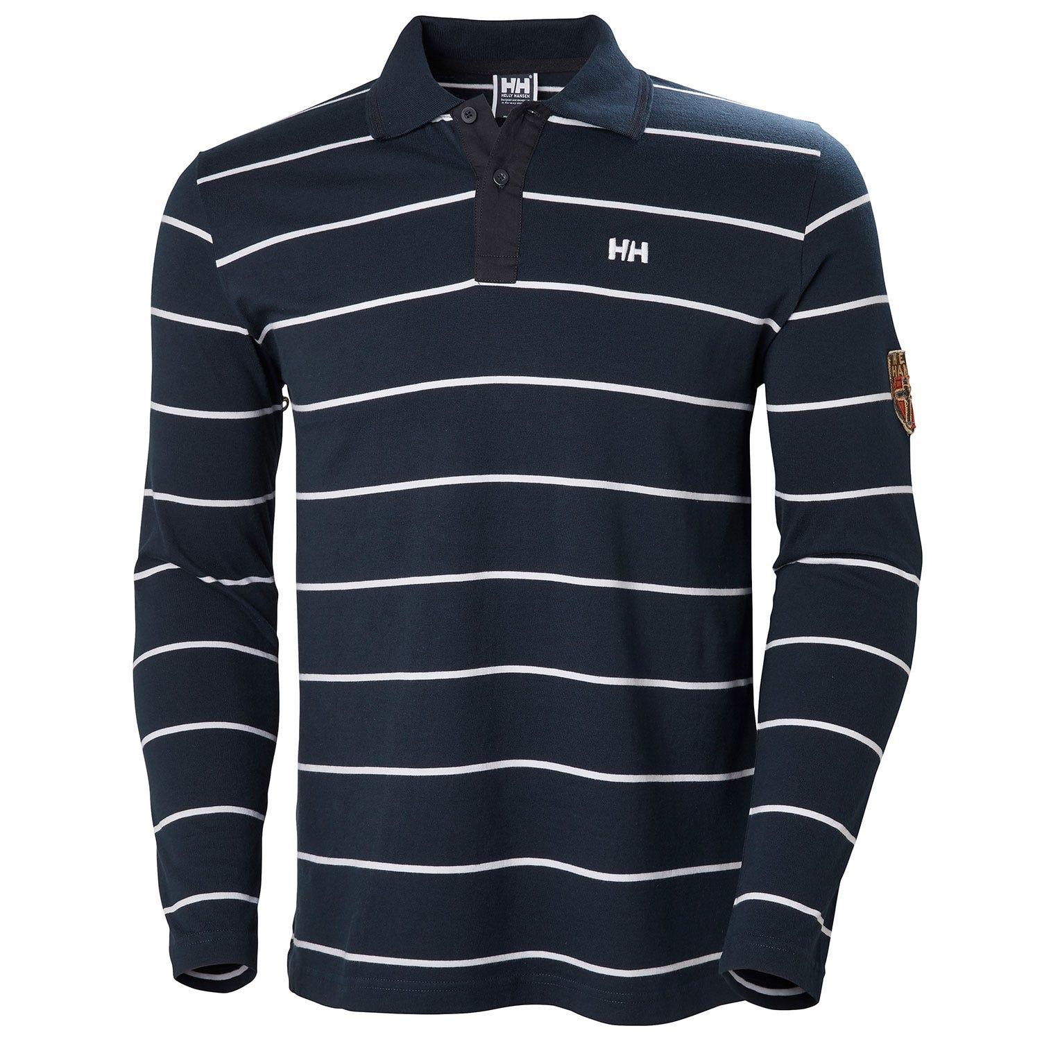 Helly Hansen Norse Rugger Mens Long Sleeve Shirts Navy L