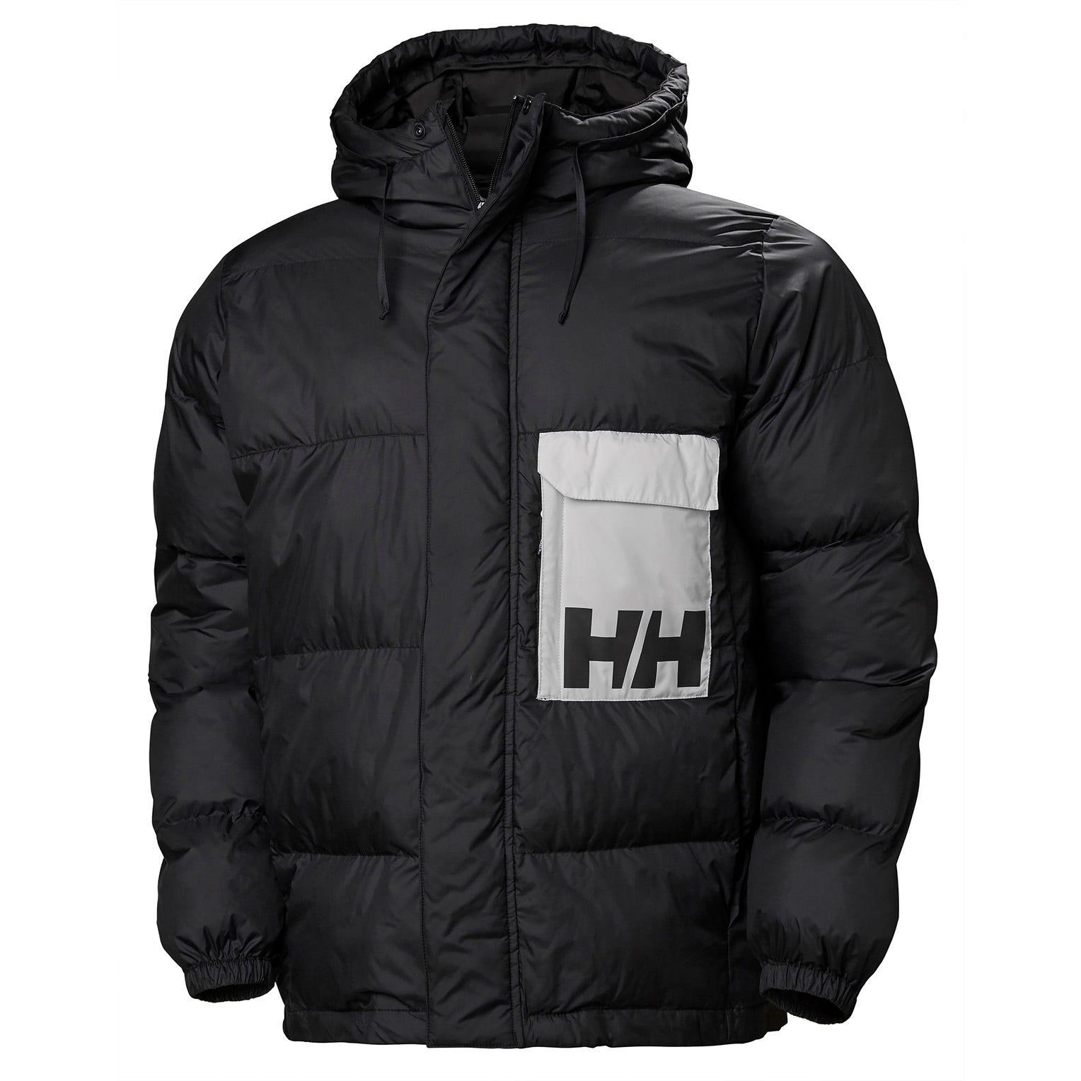 Helly Hansen Pc Puffer Jacket Mens Black XL