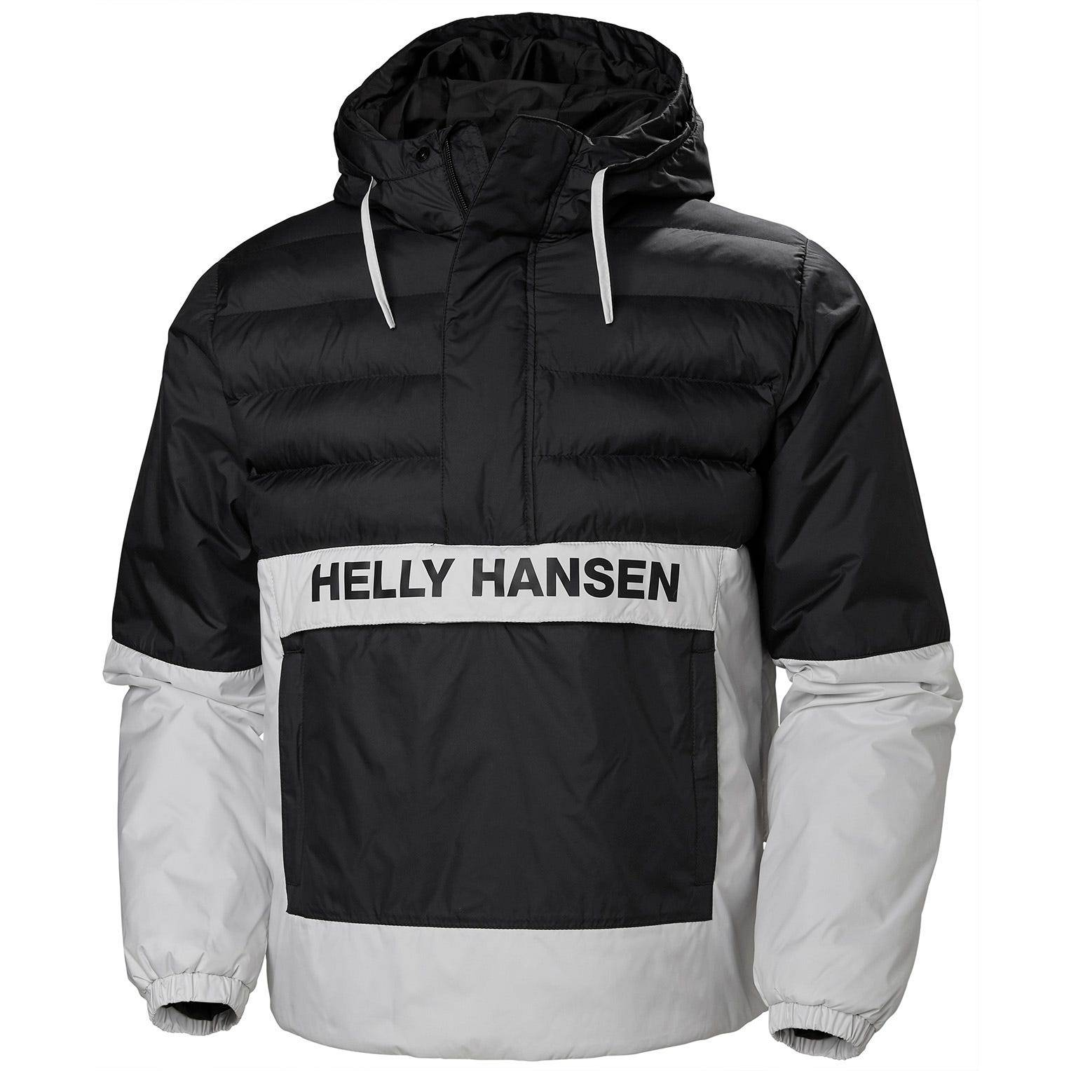 Helly Hansen Pc Quilted Anorak Mens Black S