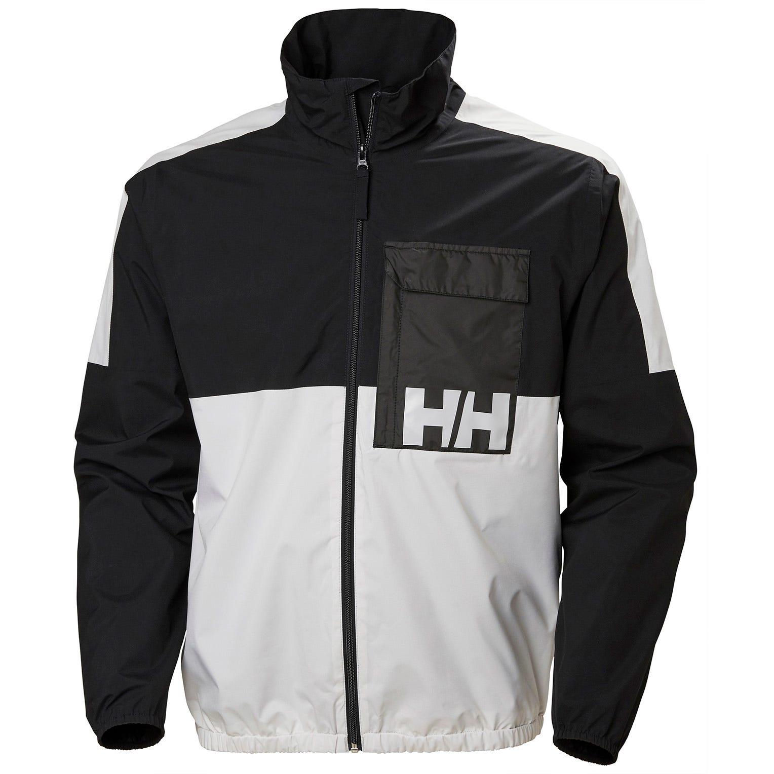 Helly Hansen Pc Rain Jacket Mens Black XXL