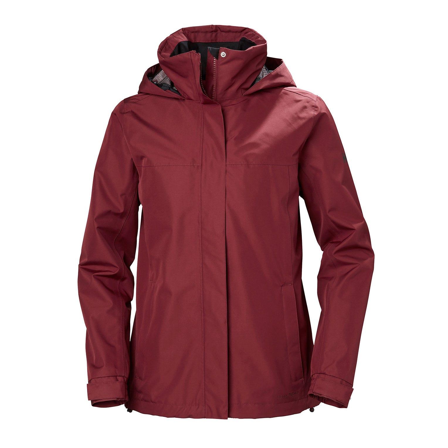 Helly Hansen W Aden Jacket Womens Rain Purple M