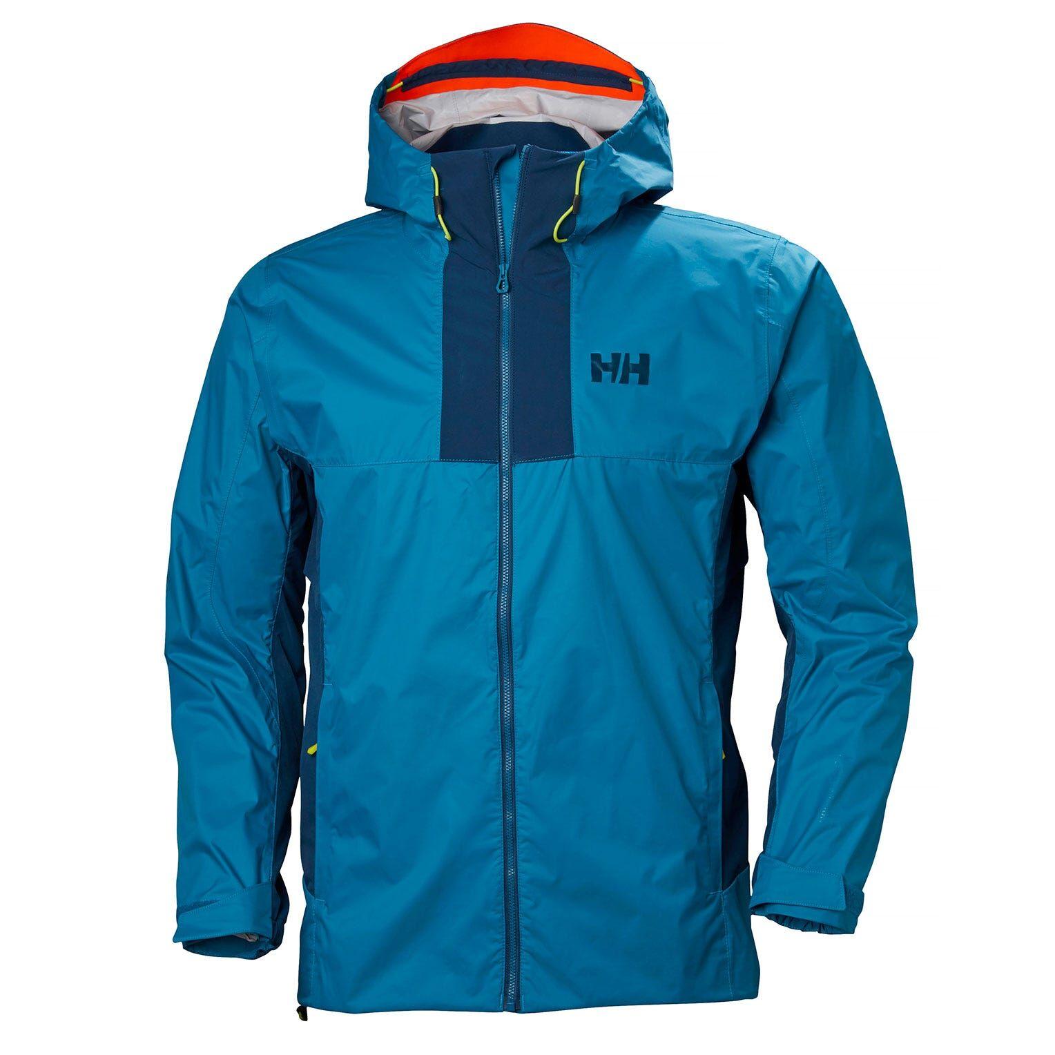 Helly Hansen Vanir Logr Jacket Mens Hiking Blue M