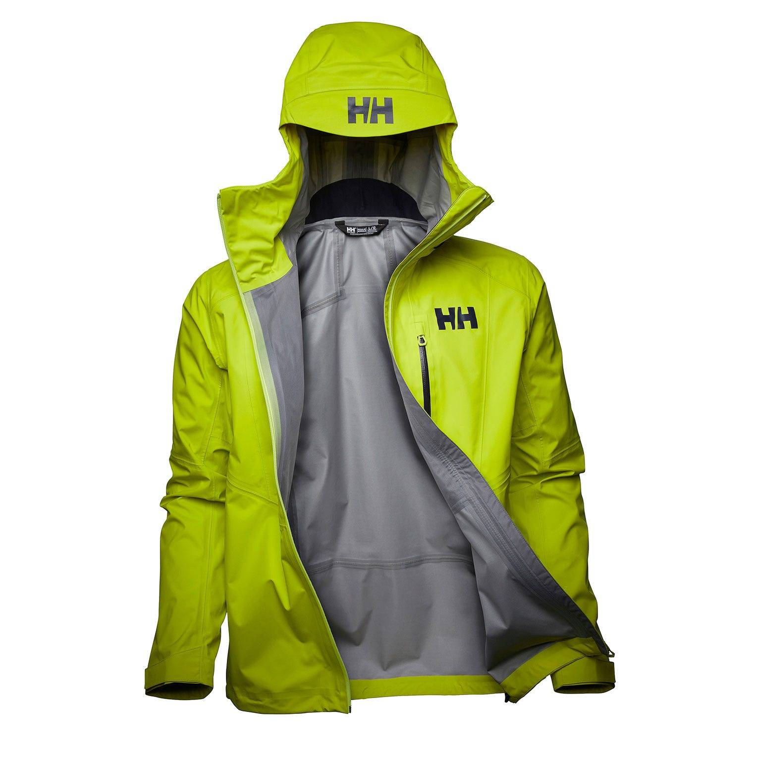 Helly Hansen Verglas 3l Shell Jacket Mens Hiking Yellow M