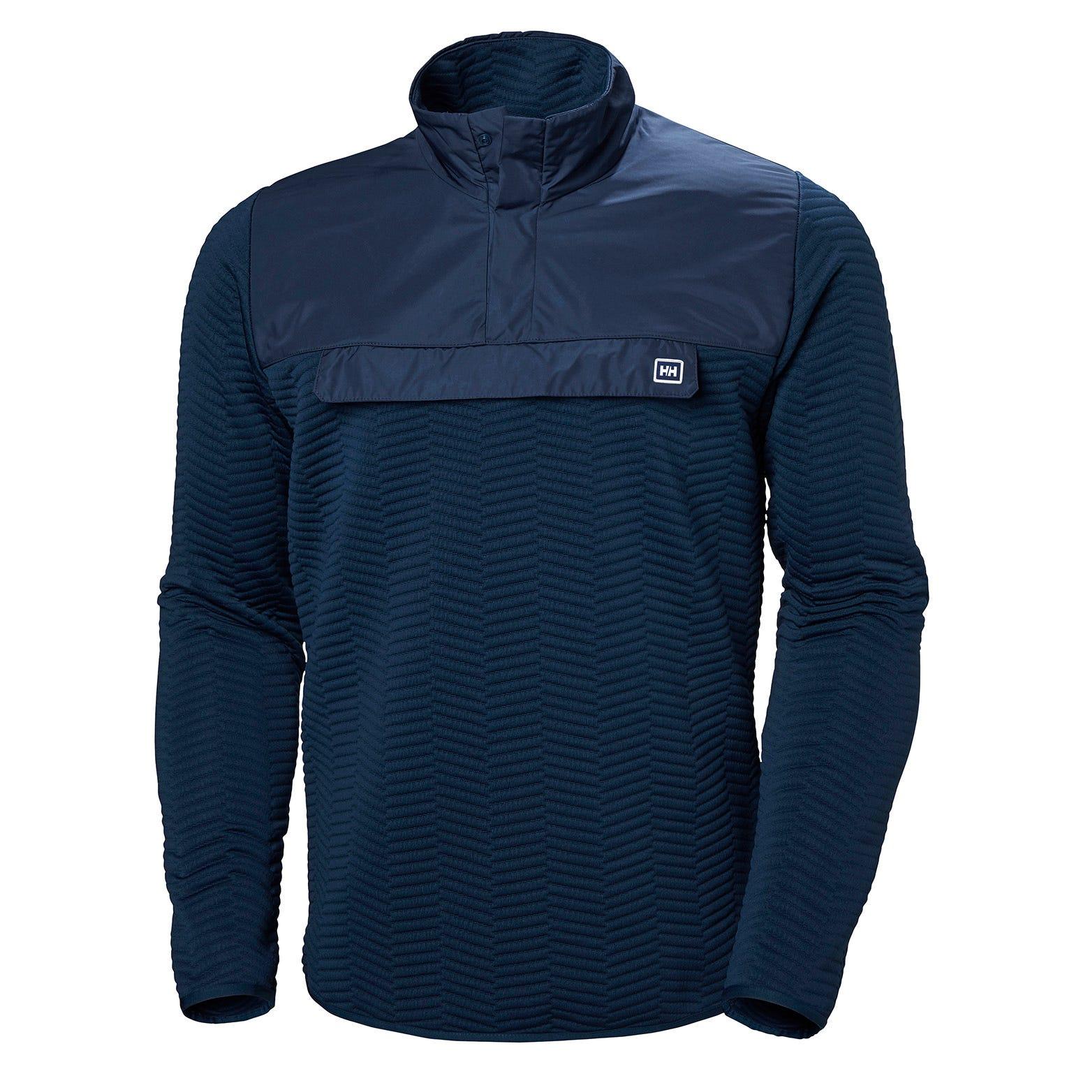 Helly Hansen Lillo Sweater Mens Midlayer Blue L