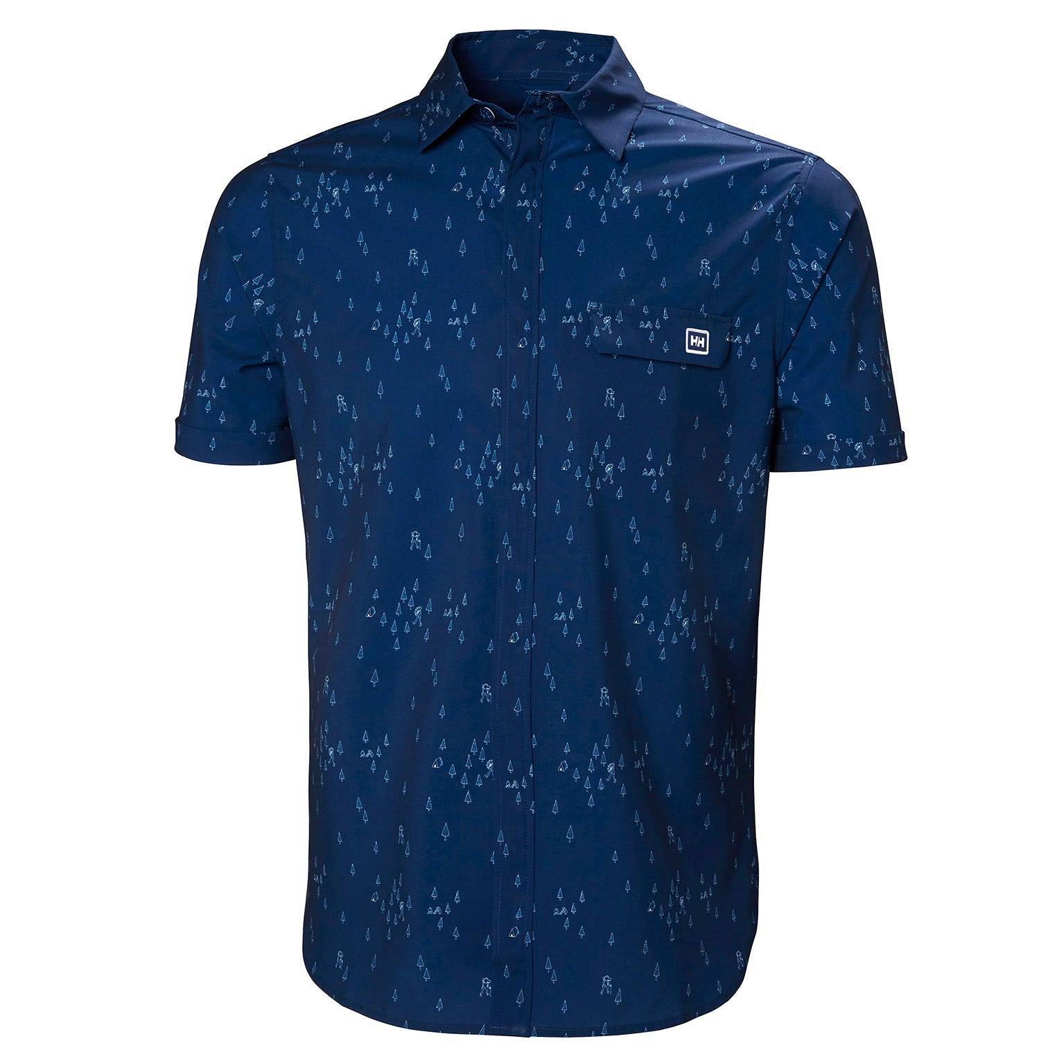 Helly Hansen Oya Shirt Mens Midlayer Blue L