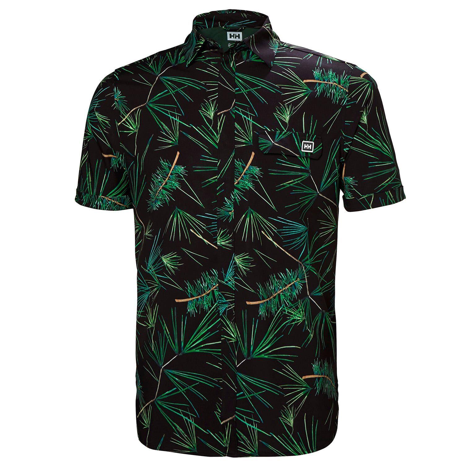 Helly Hansen Oya Shirt Mens Midlayer Black L
