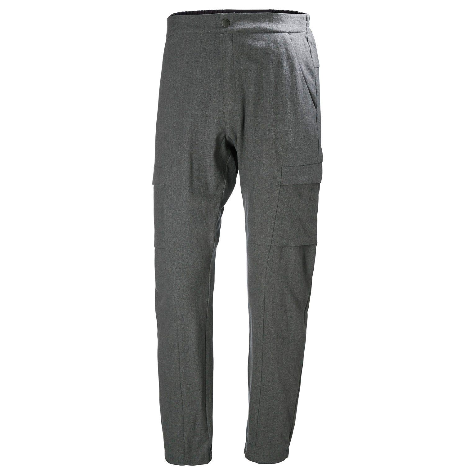 Helly Hansen Wool Travel Hiking Pant Grey XL