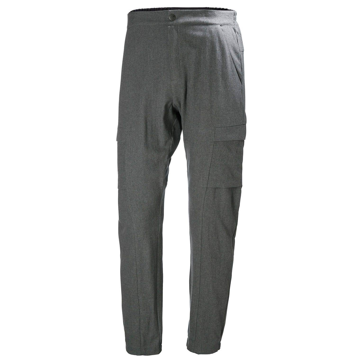 Helly Hansen Wool Travel Hiking Pant Grey L