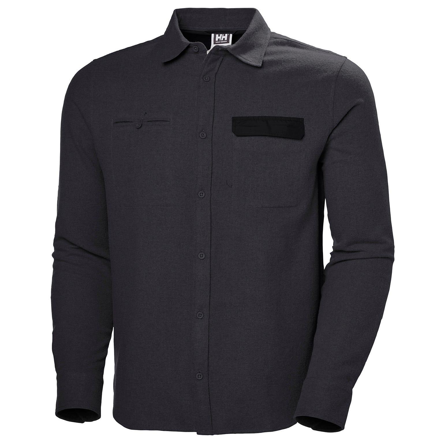 Helly Hansen WoolLong Sleeve Shirt Black M