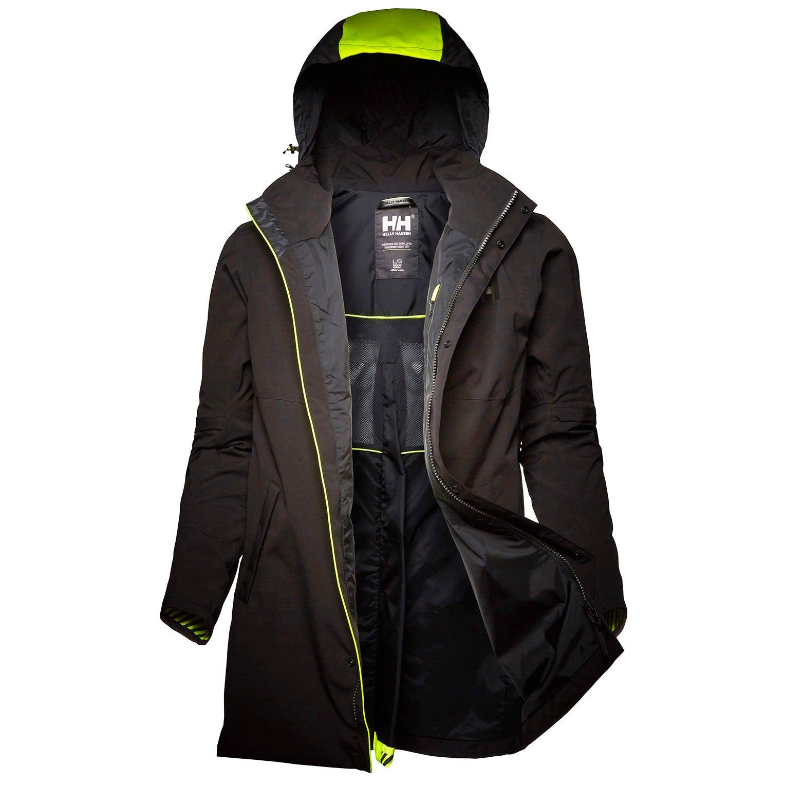 Helly Hansen Coasting Coat Rain Jacket Black XL