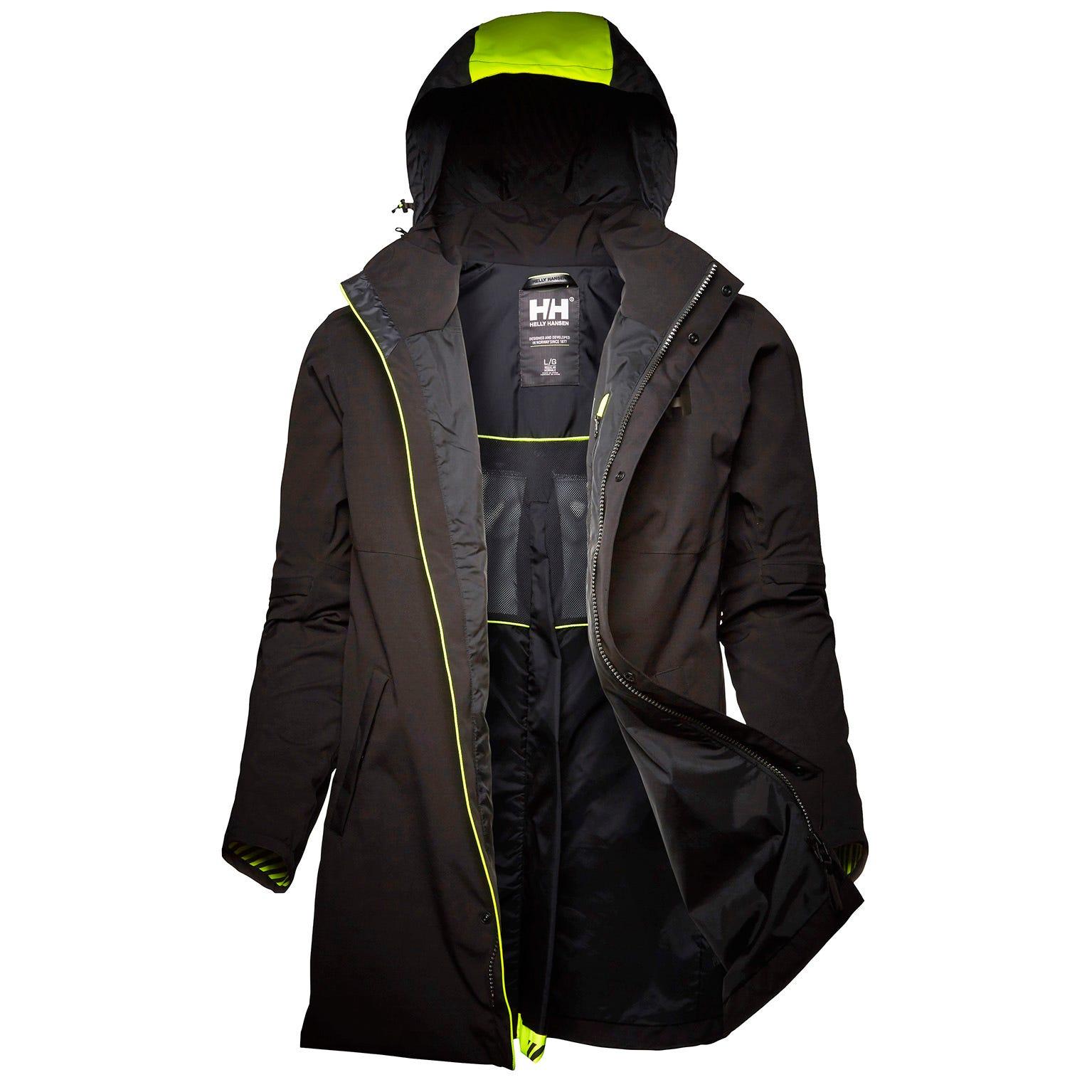 Helly Hansen Coasting Coat Rain Jacket Black M