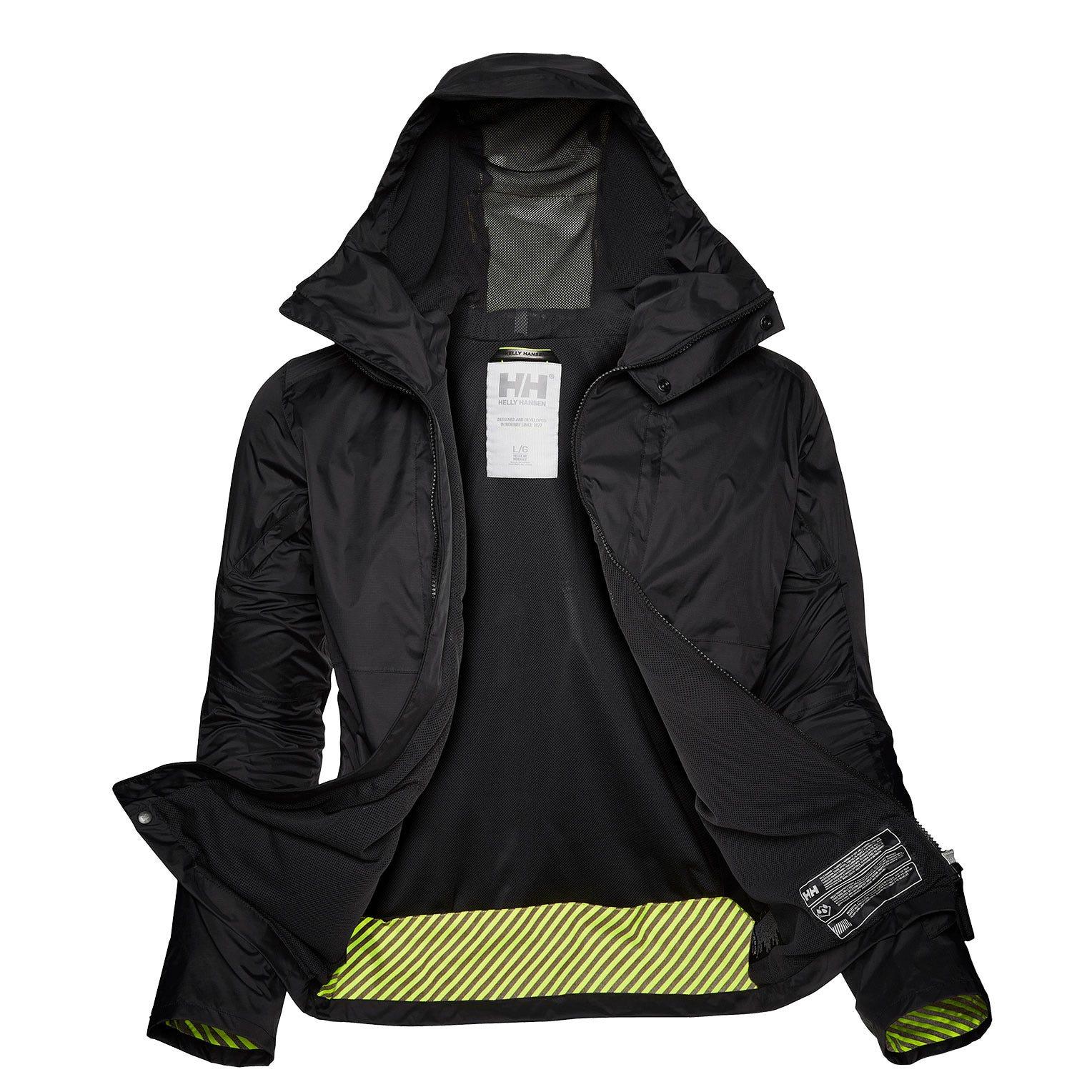 Helly Hansen Coasting Jacket Mens Rain Black XS