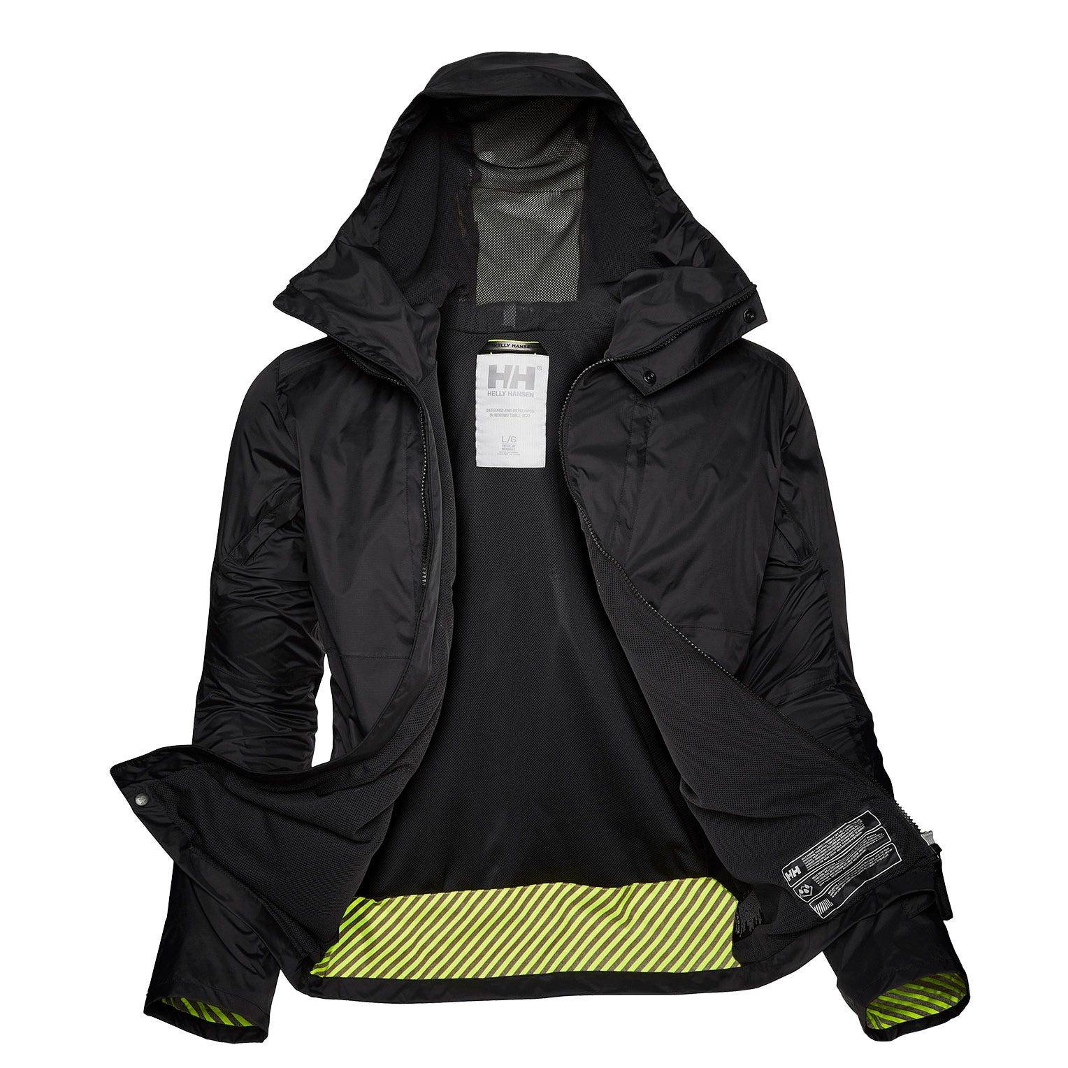 Helly Hansen Coasting Jacket Mens Rain Black M