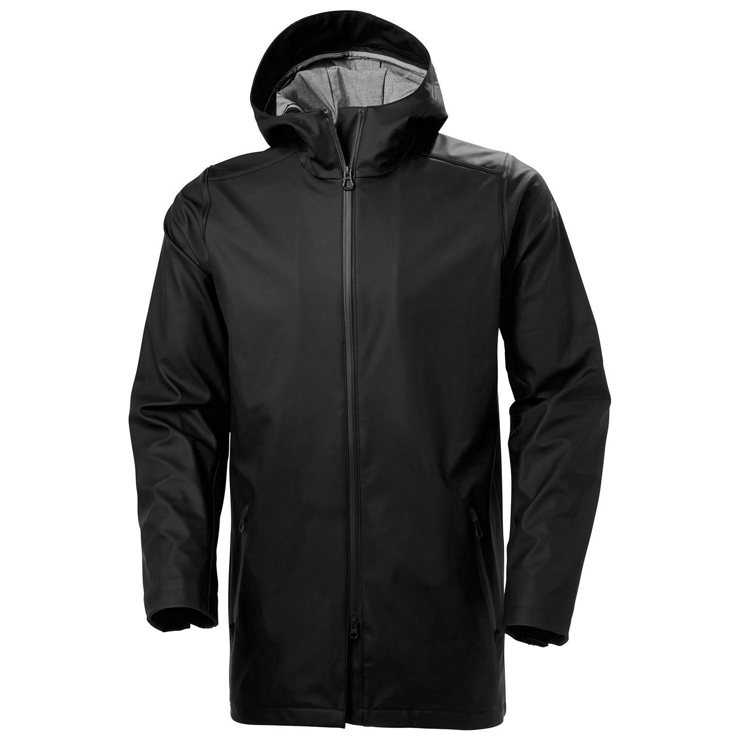 Helly Hansen Copenhagen Raincoat Mens Parka Black XL
