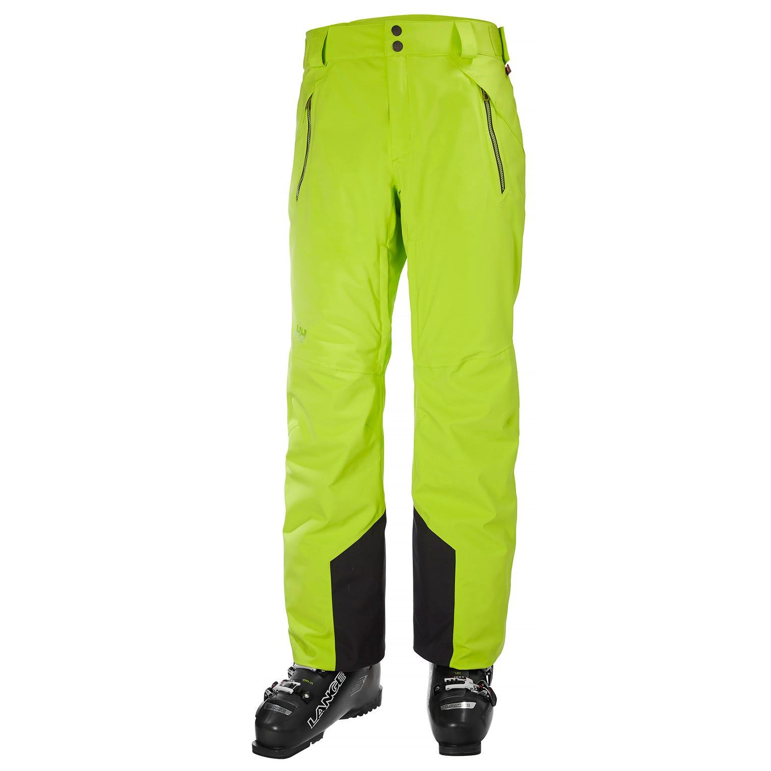 Helly Hansen Force Pant Mens Ski Yellow XL