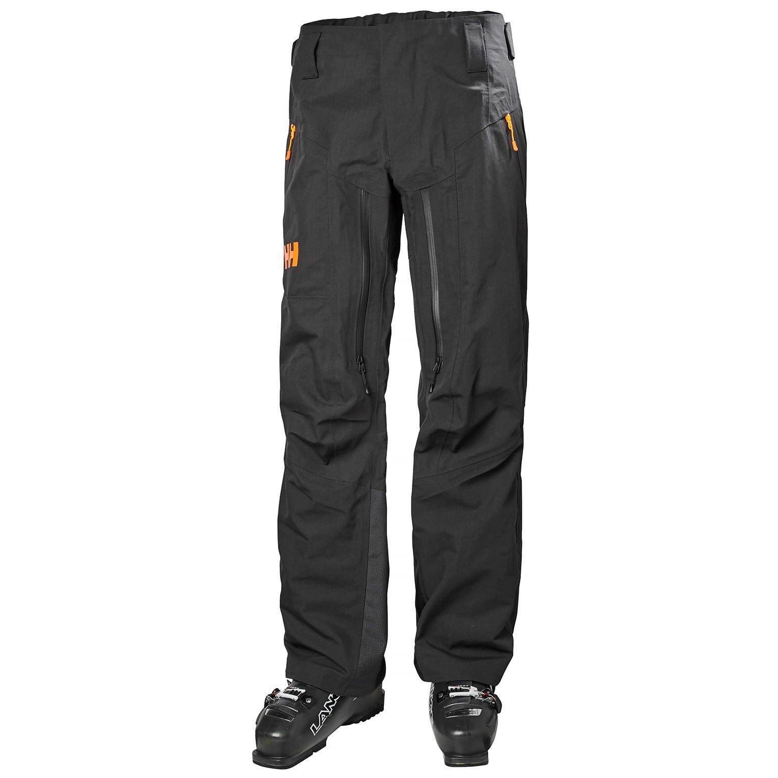 Helly Hansen Wasatch Shell Pant Mens Ski Black XL