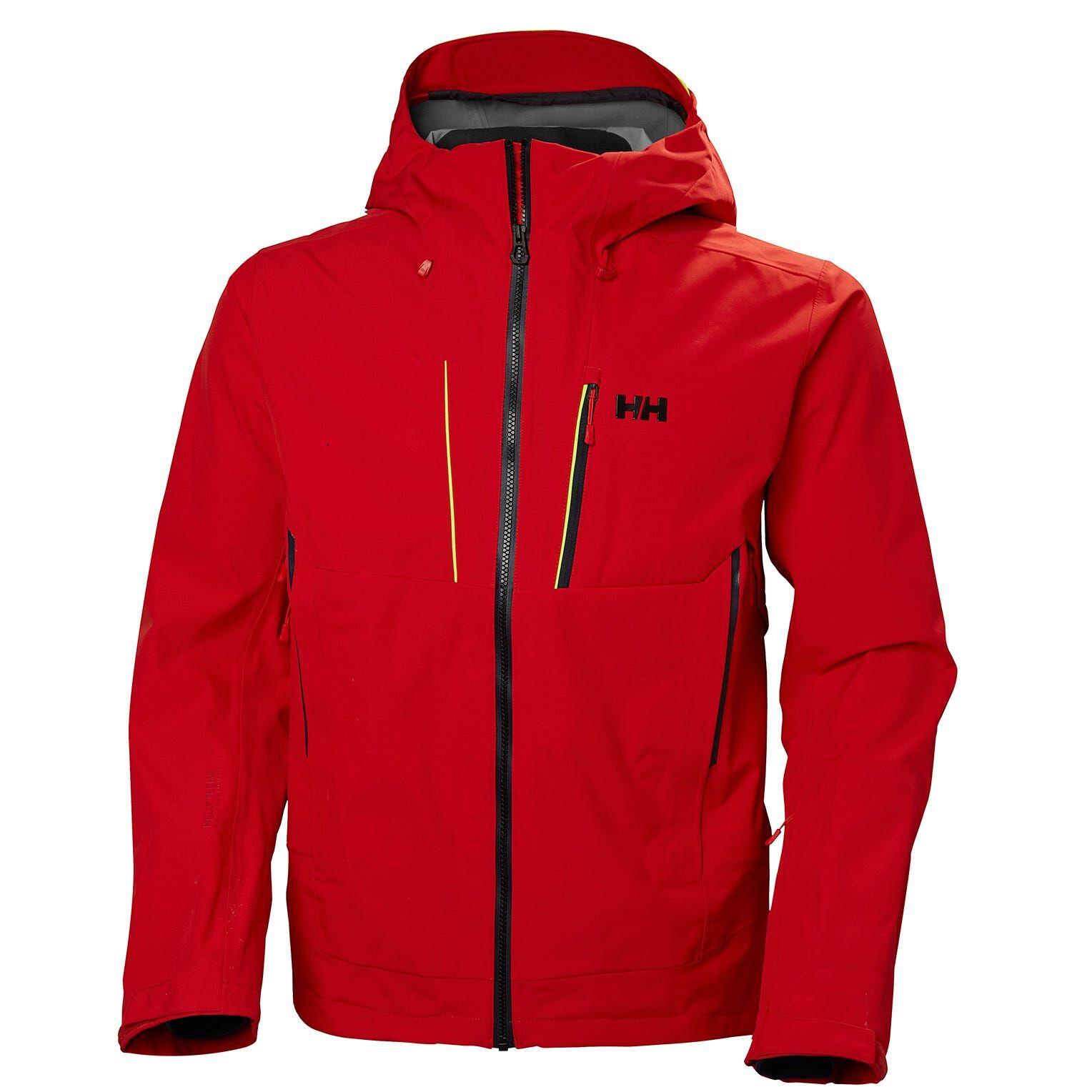 Helly Hansen Alpha Shell Jacket Mens Red XL