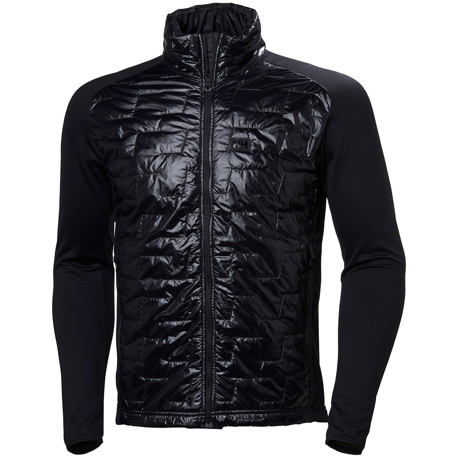 Helly Hansen Lifaloft Hybrid Insulator Jac Mens Fleece Black L