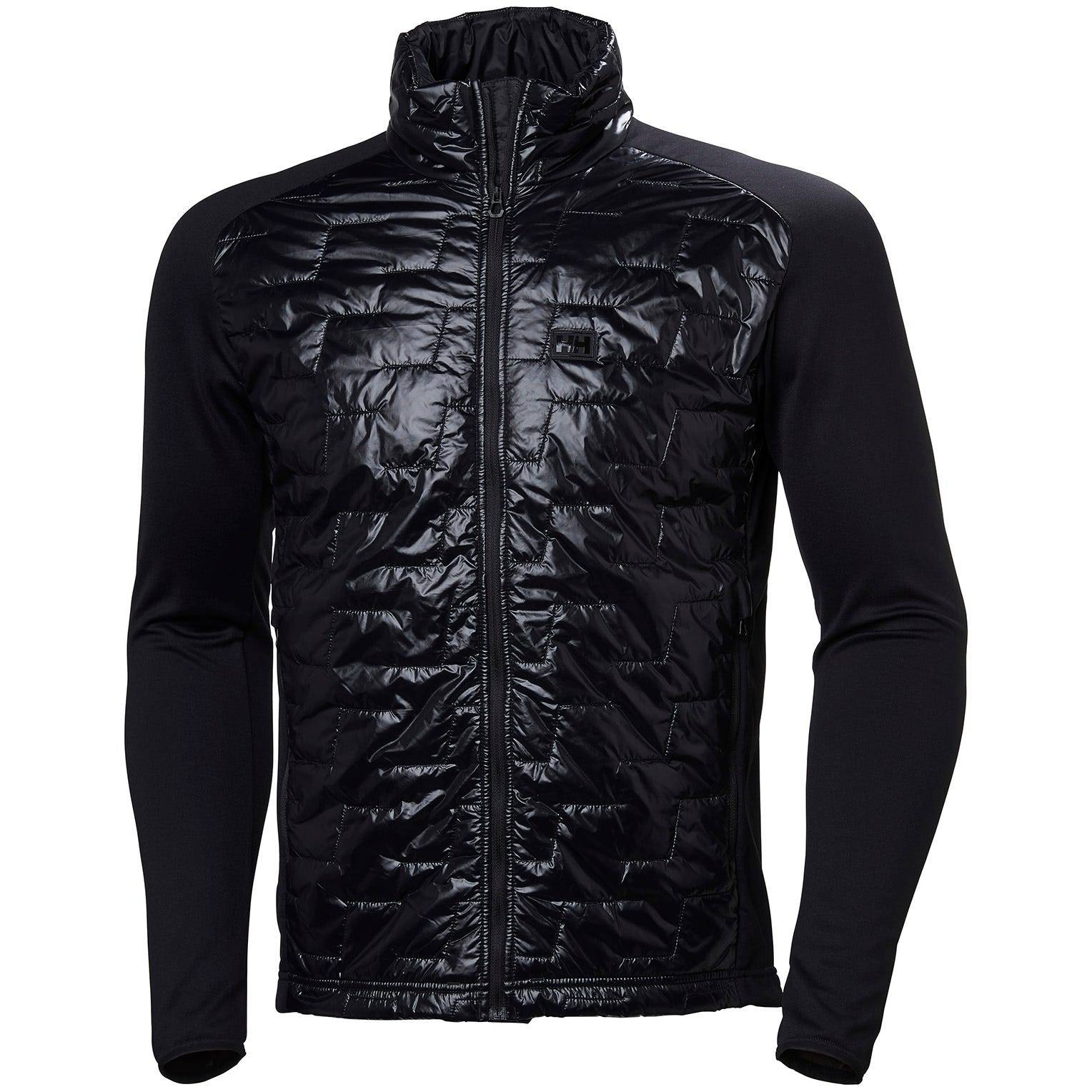 Helly Hansen Lifaloft Hybrid Insulator Jac Mens Fleece Black XXL