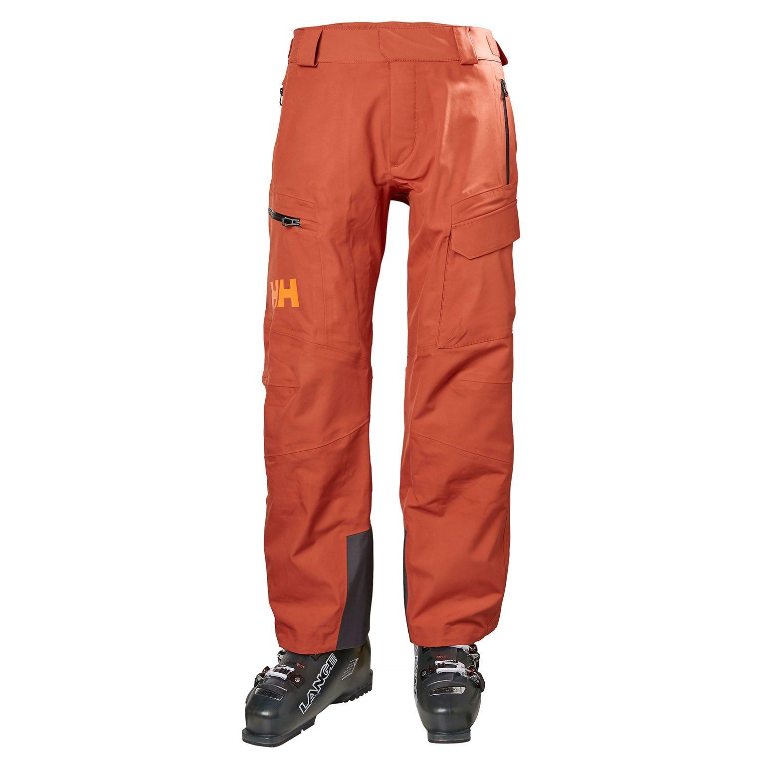 Helly Hansen Ridge Shell Pant Mens Ski Red M