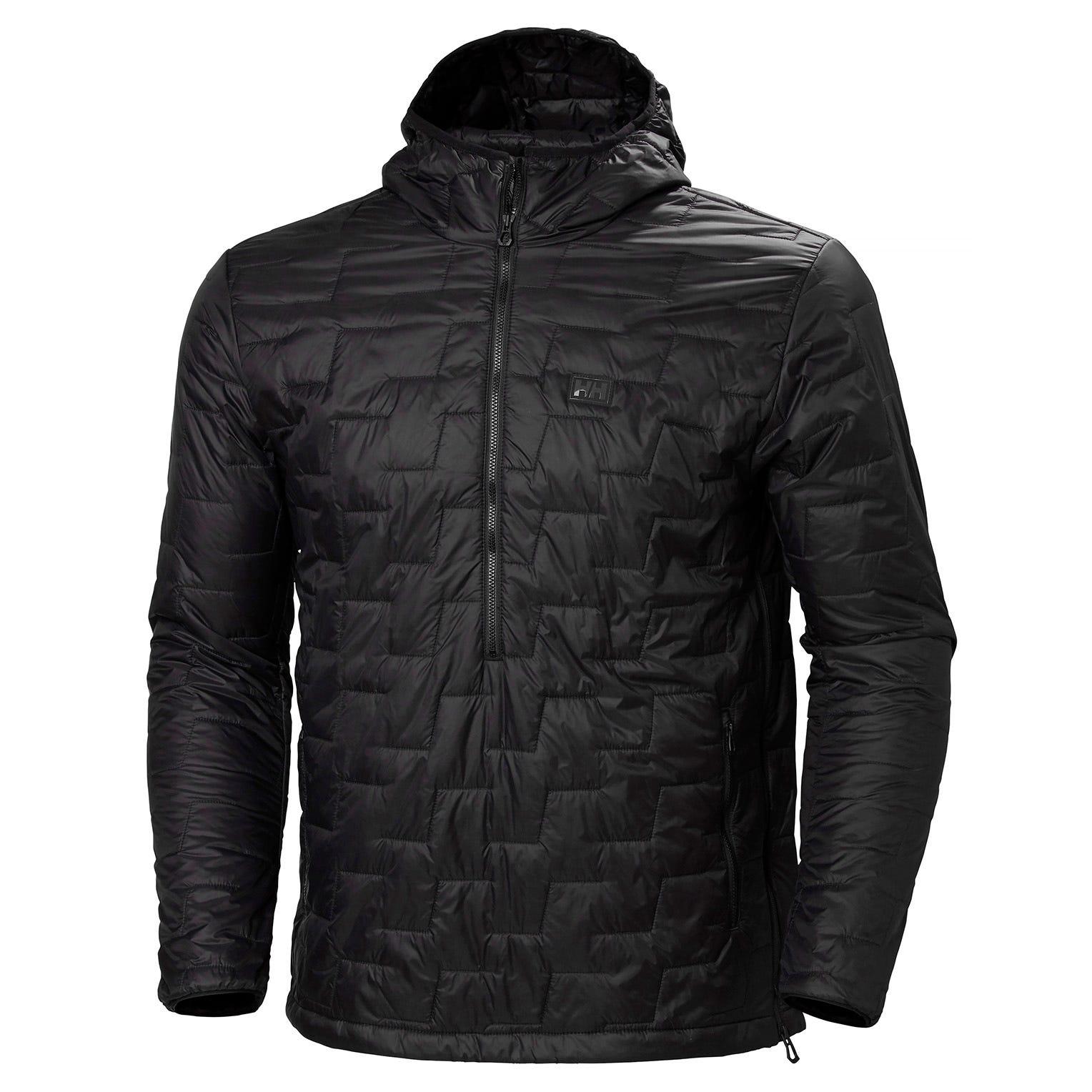 Helly Hansen Lifaloft Insulator Pullover Mens Fleece Black M