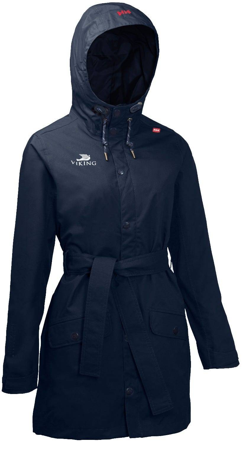 Helly Hansen W Viking Cruises Lyness Coat Womens Rain Jacket Navy M