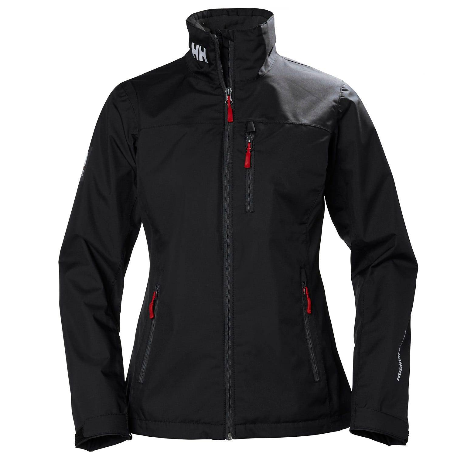 Helly Hansen W Crew Jacket Womens Sailing Black M