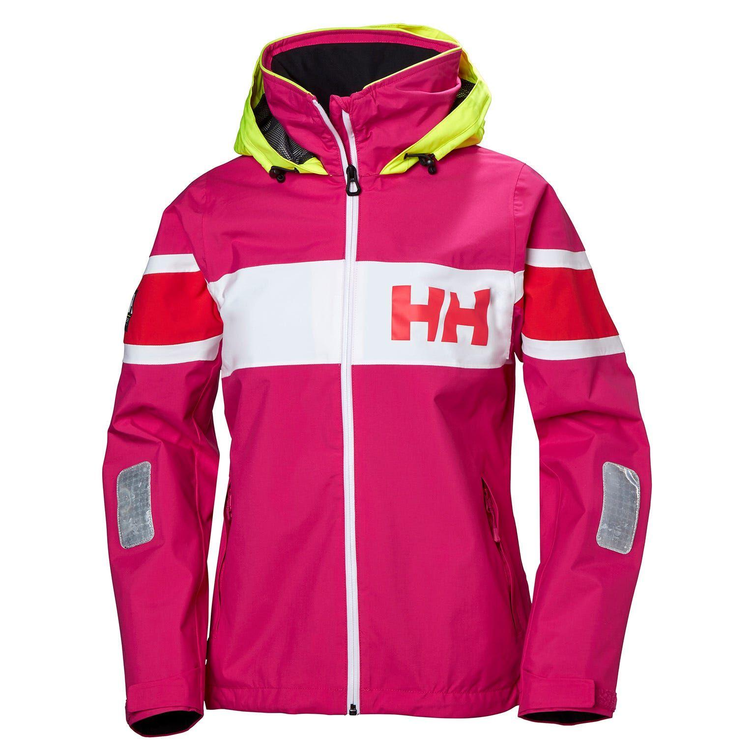 Helly Hansen W Salt Flag Jacket Womens Sailing Pink M