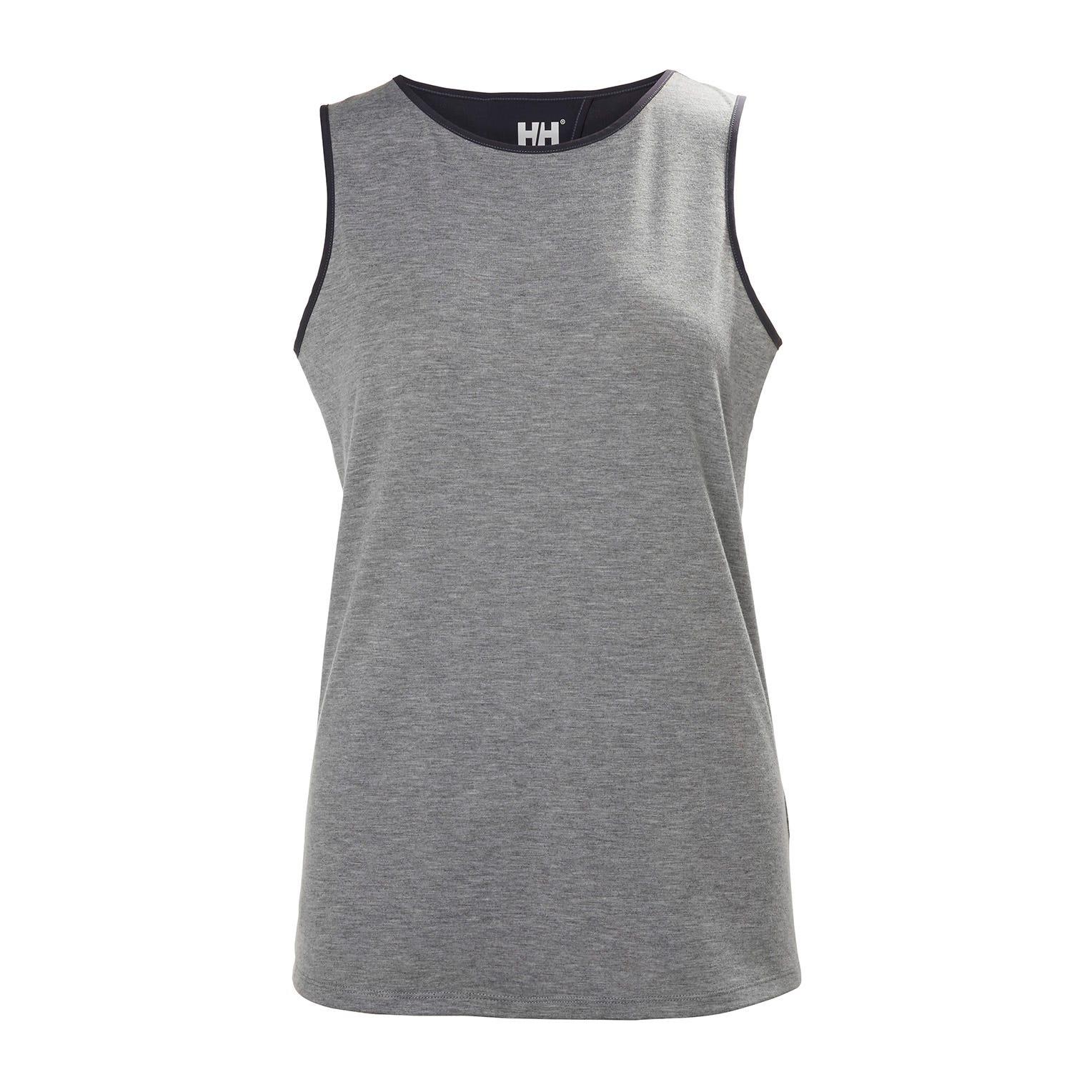 Helly Hansen W Thalia Sleeveless T Womens Grey M