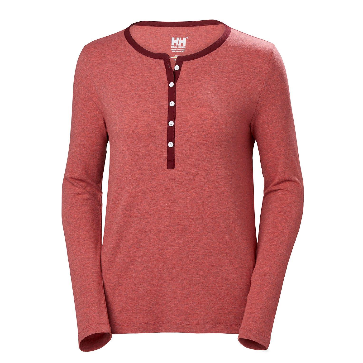 Helly Hansen W Naiad Henley Womens Fleece Pink XL