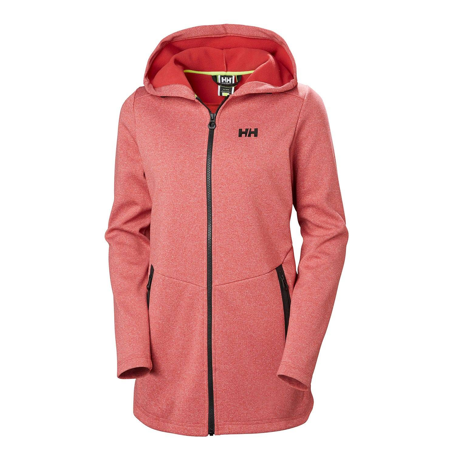 Helly Hansen W Naiad Long Fz Hoodie Womens Fleece Pink L