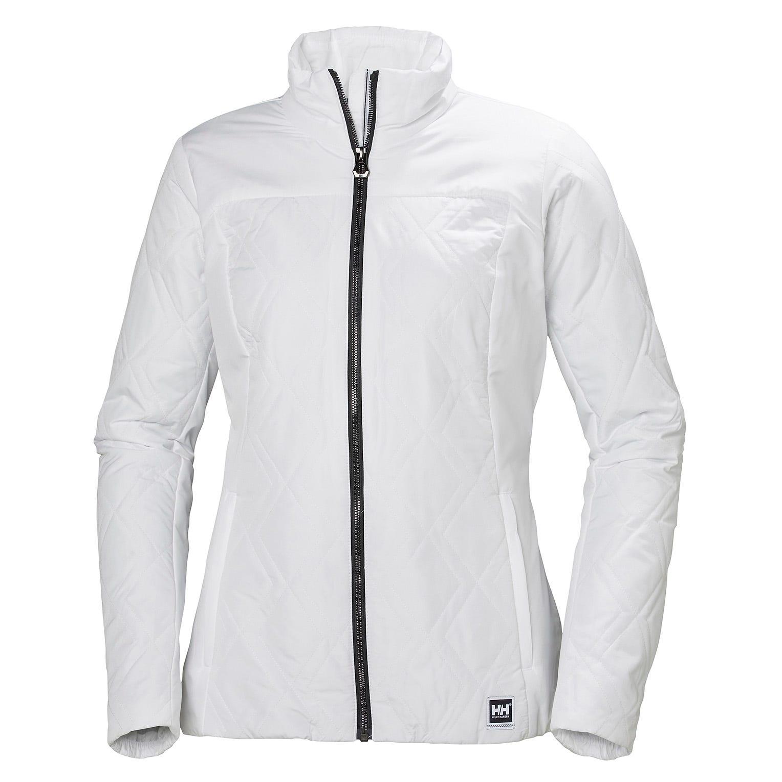 Helly Hansen W Crew Insulator Jacket Womens White L