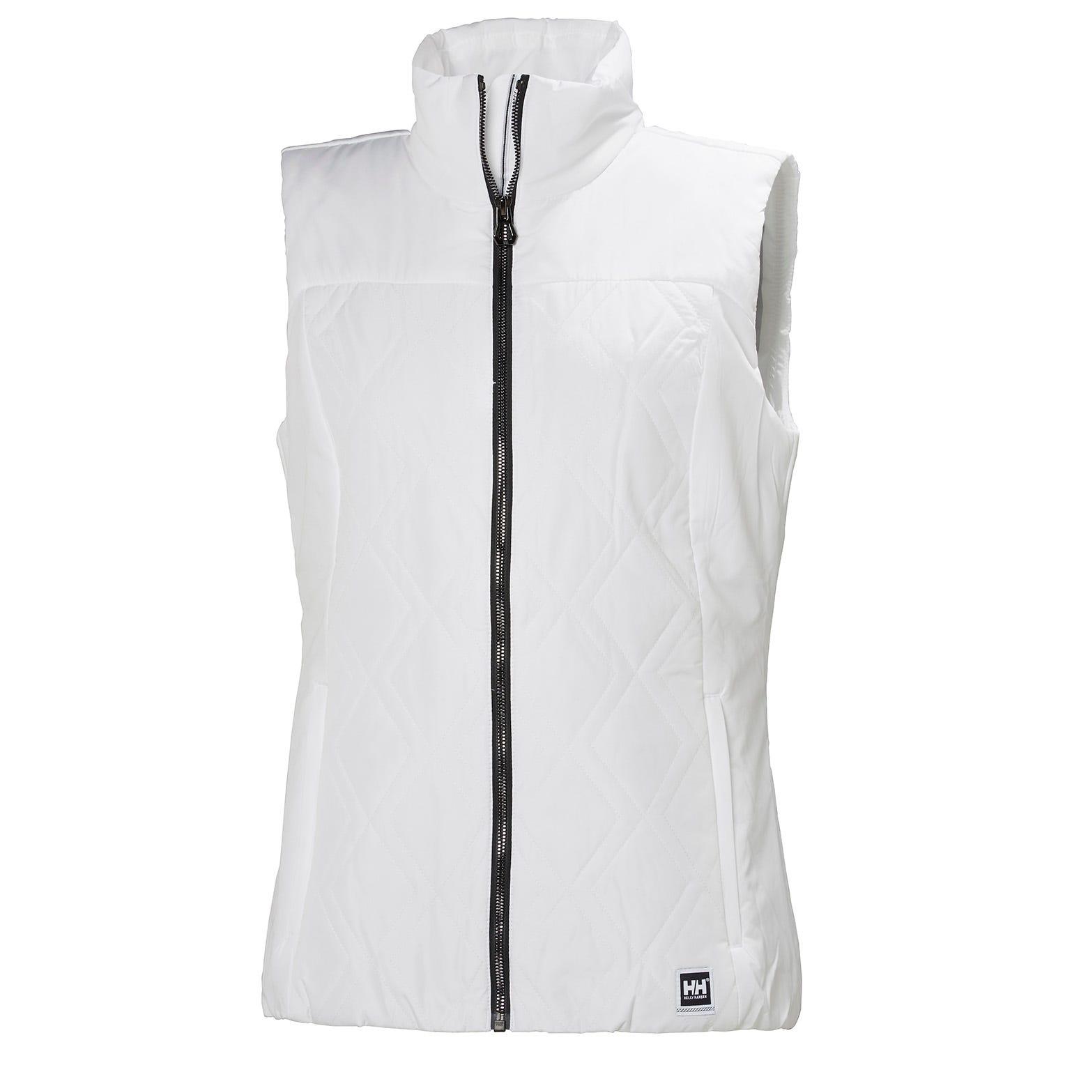 Helly Hansen W Crew Insulator Vest Womens Sailing Jacket White M