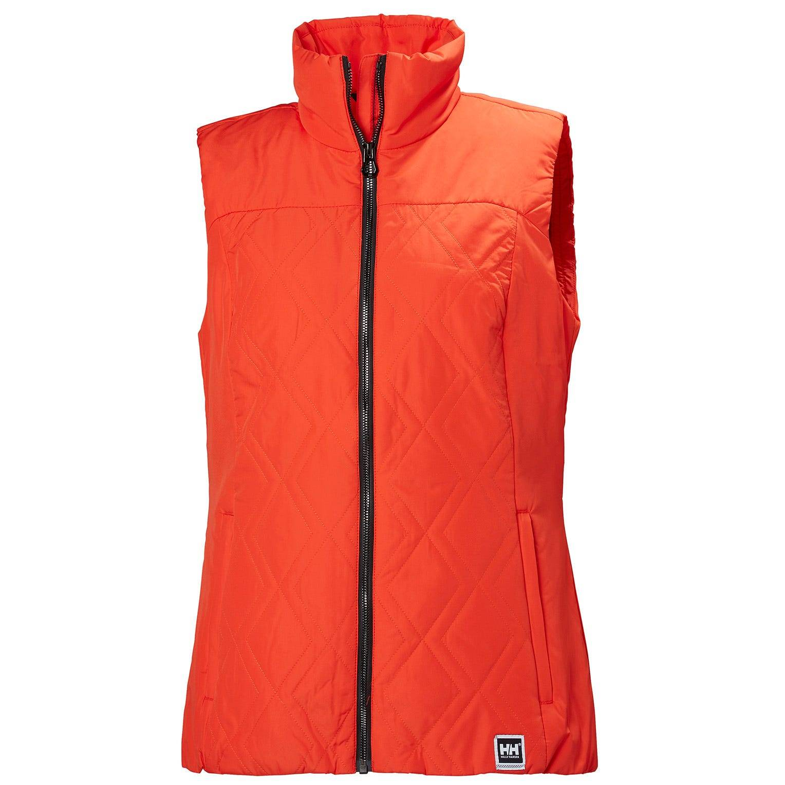 Helly Hansen W Crew Insulator Vest Womens Sailing Jacket Red S