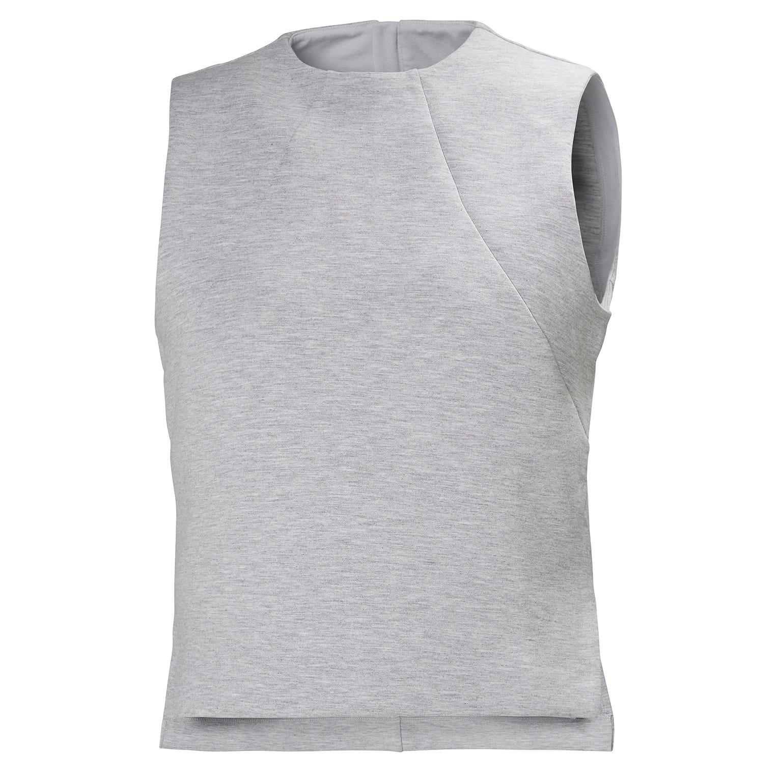 Helly Hansen W Hp Ocean Sleeveless Top Womens Grey XL