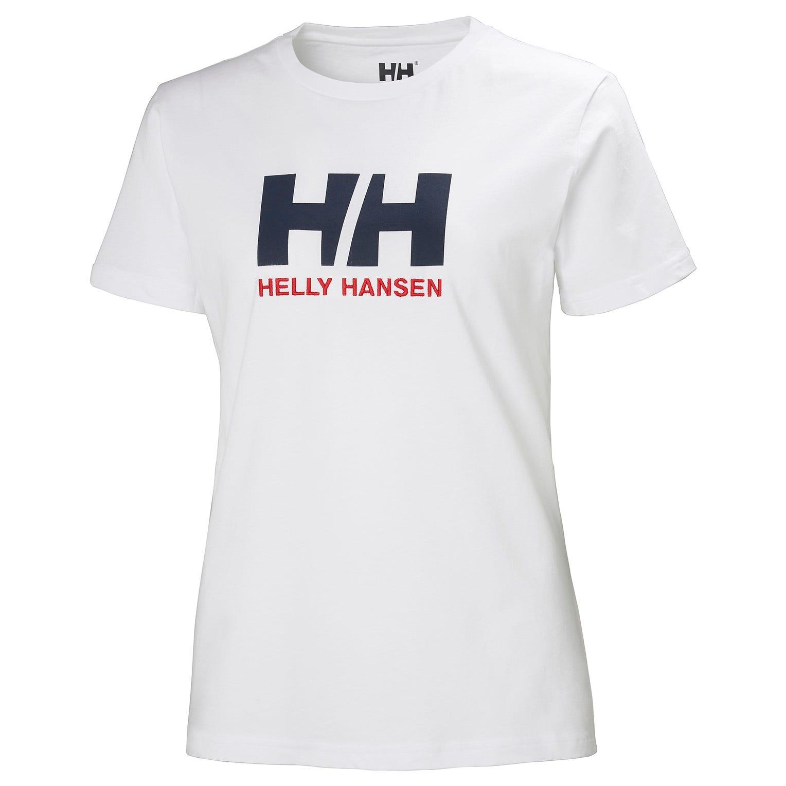 Helly Hansen W Logo Tshirt Womens White S