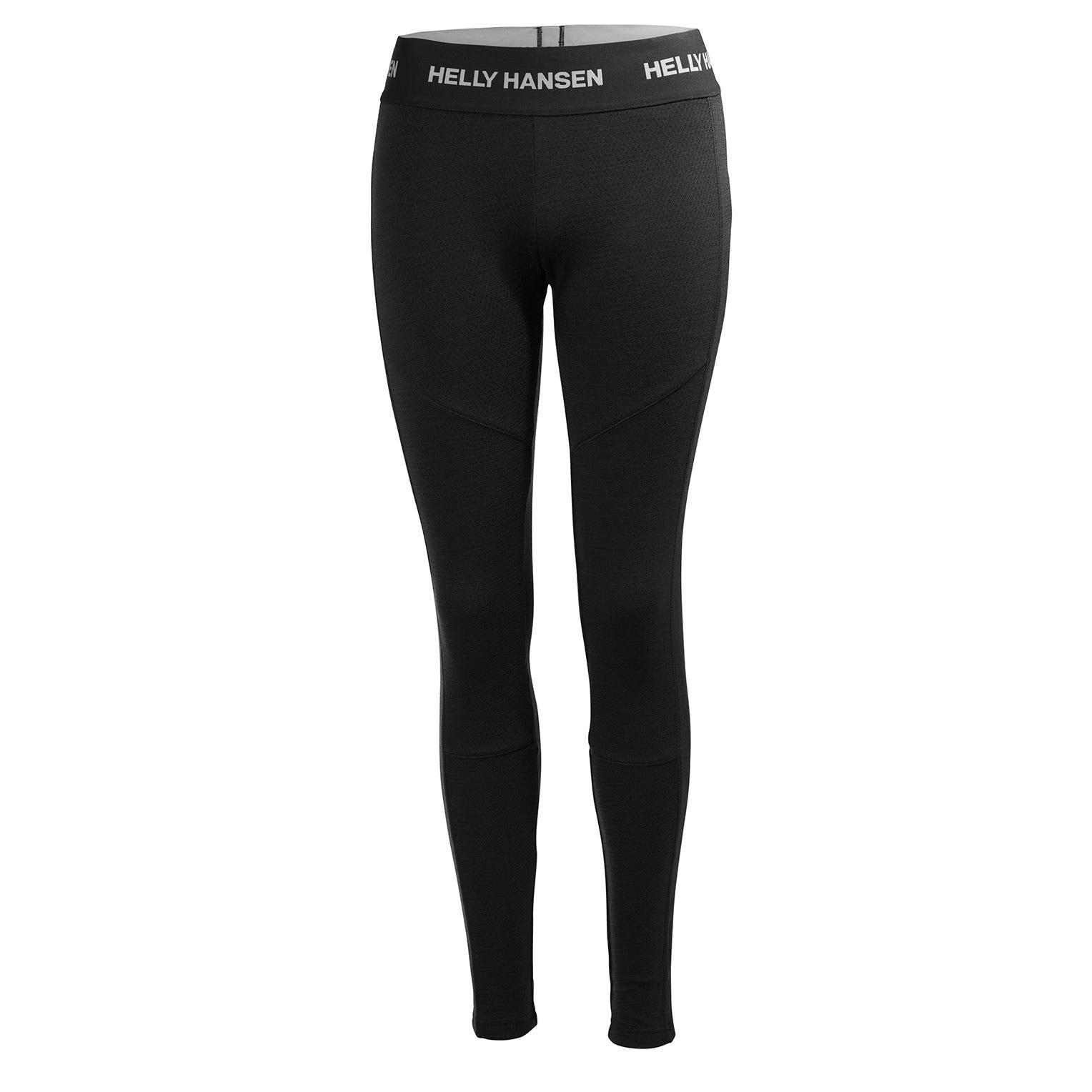 Helly Hansen W Lifa Merino Pant Womens Baselayer Black L