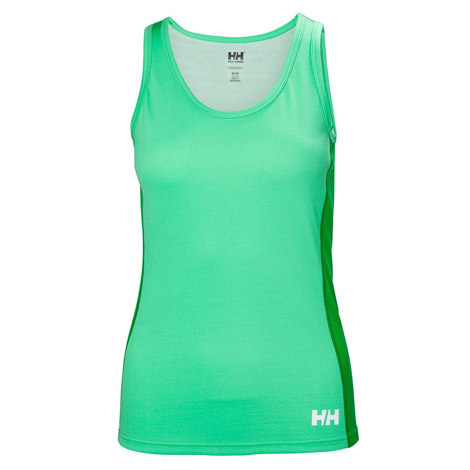 Helly Hansen W Lifa Active Light Singlet Womens Baselayer Green L