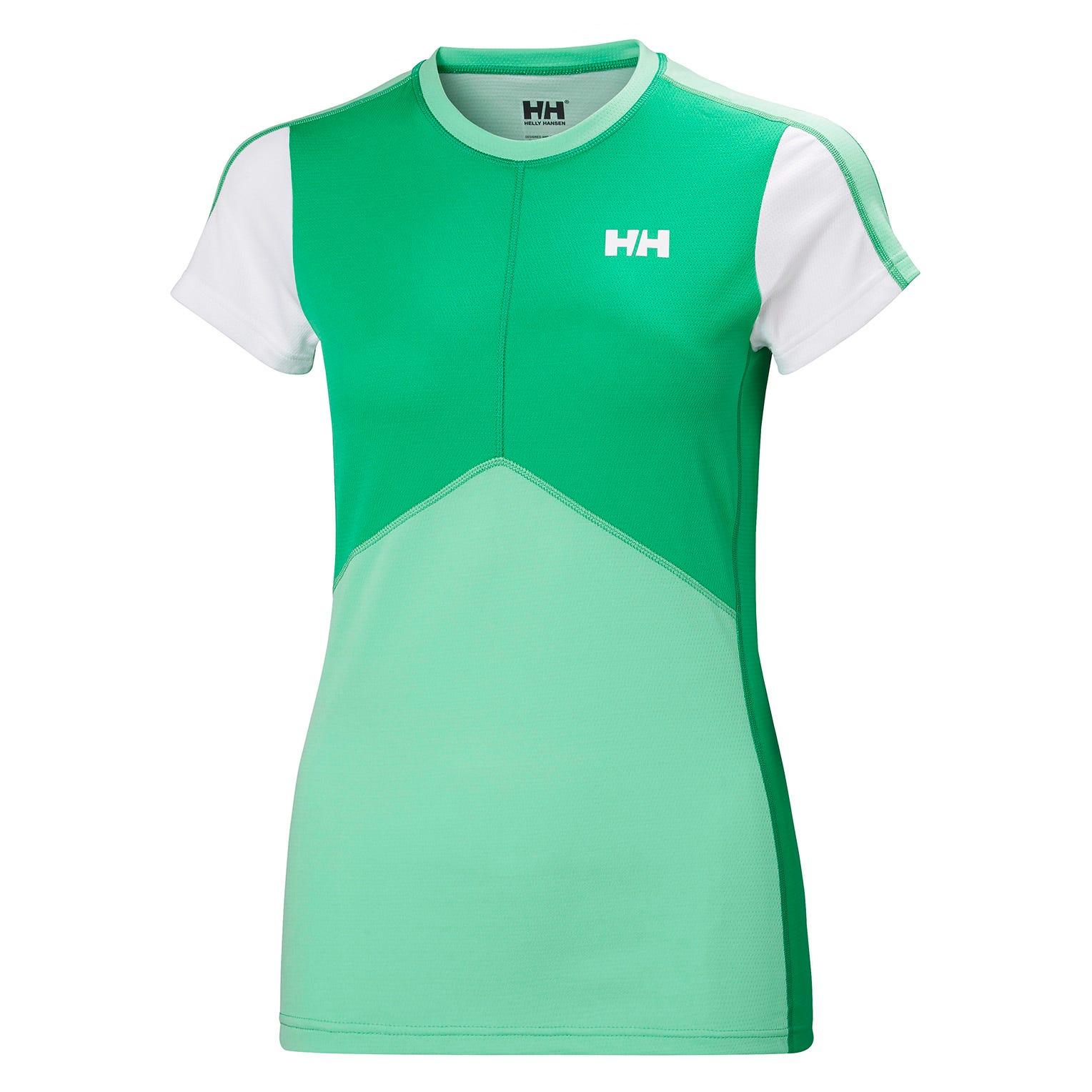 Helly Hansen W Lifa Active Light Womens Baselayer Green S