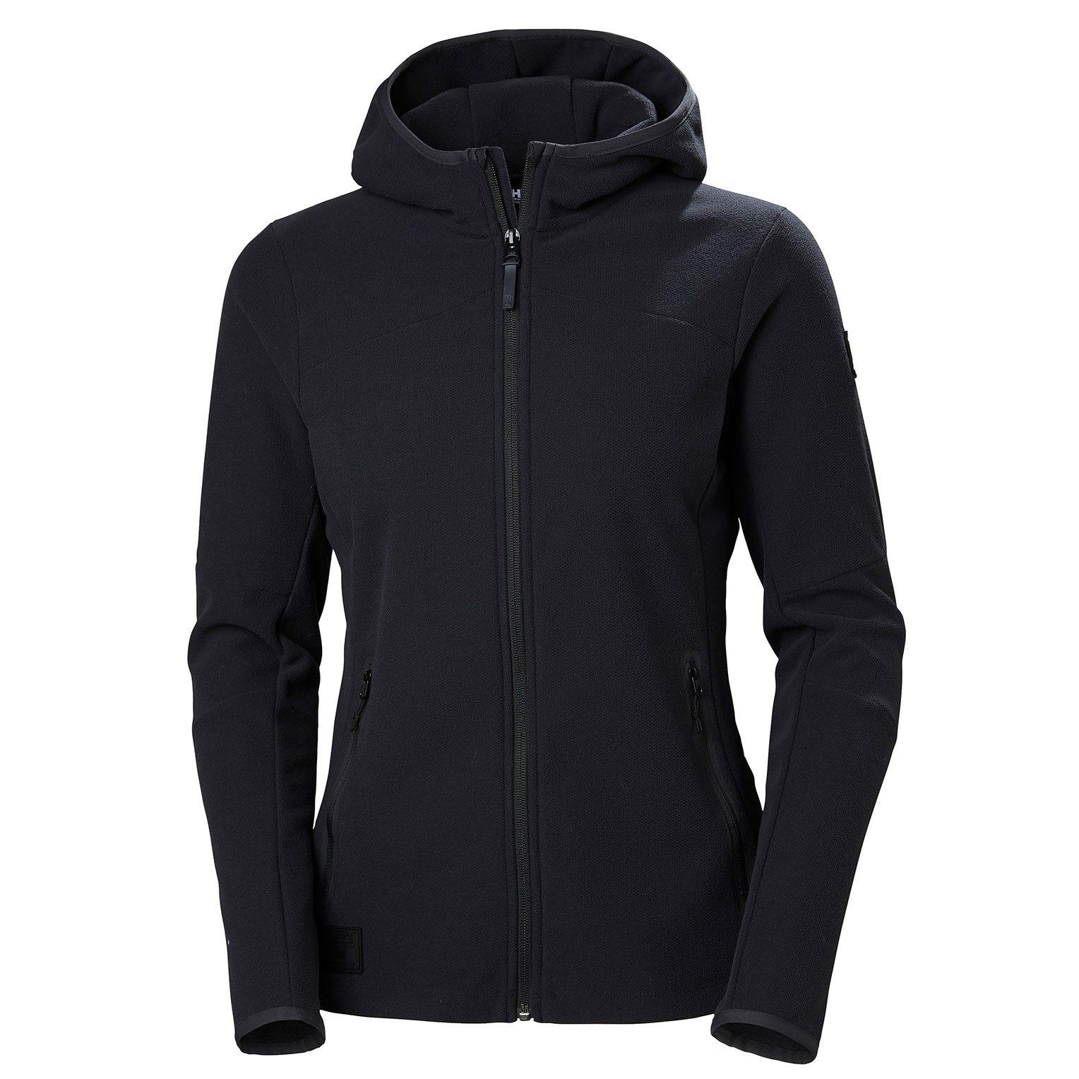 Helly Hansen W Vanir Fleece Jacket Womens Black XL