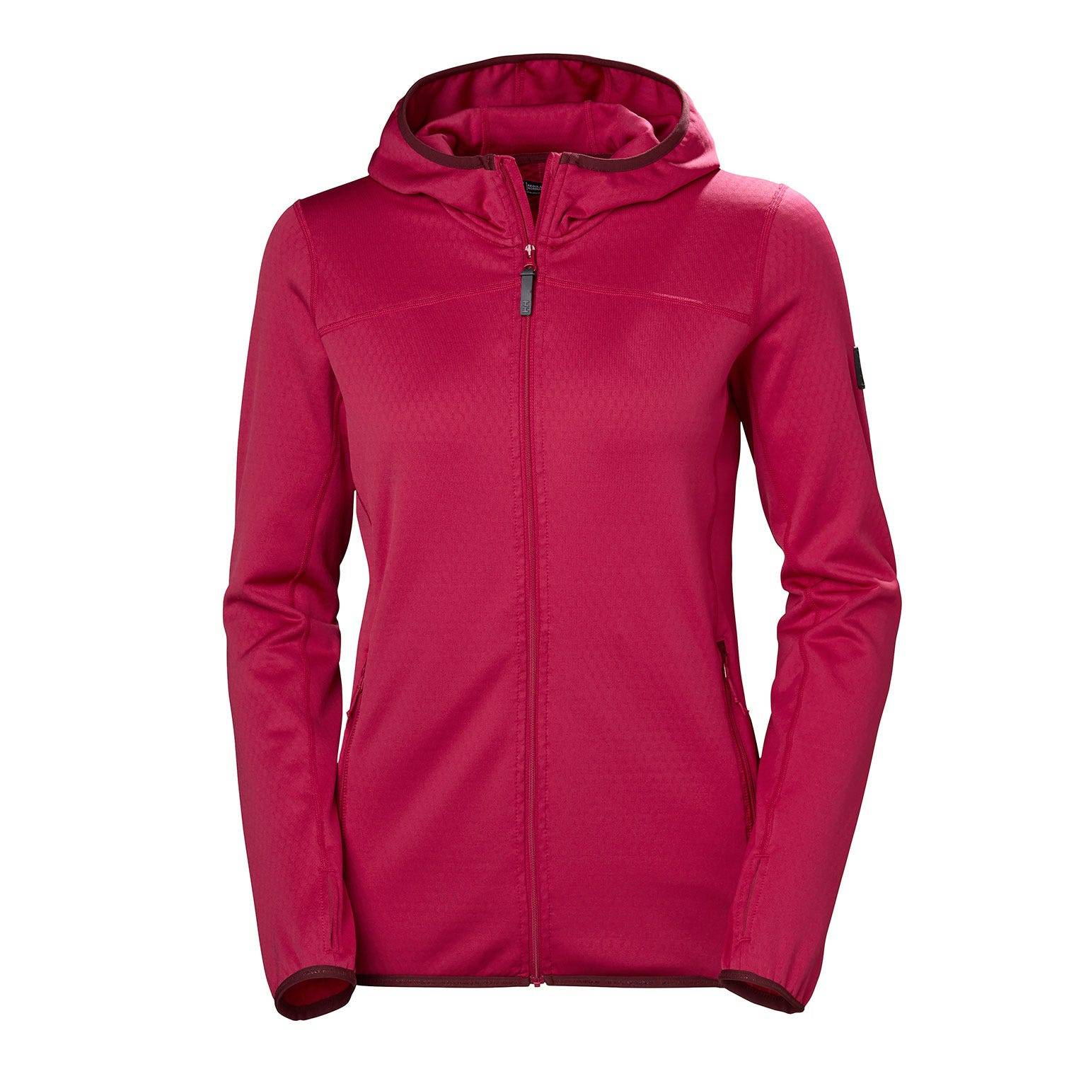 Helly Hansen W Vertex Hoodie Womens Fleece Pink XS