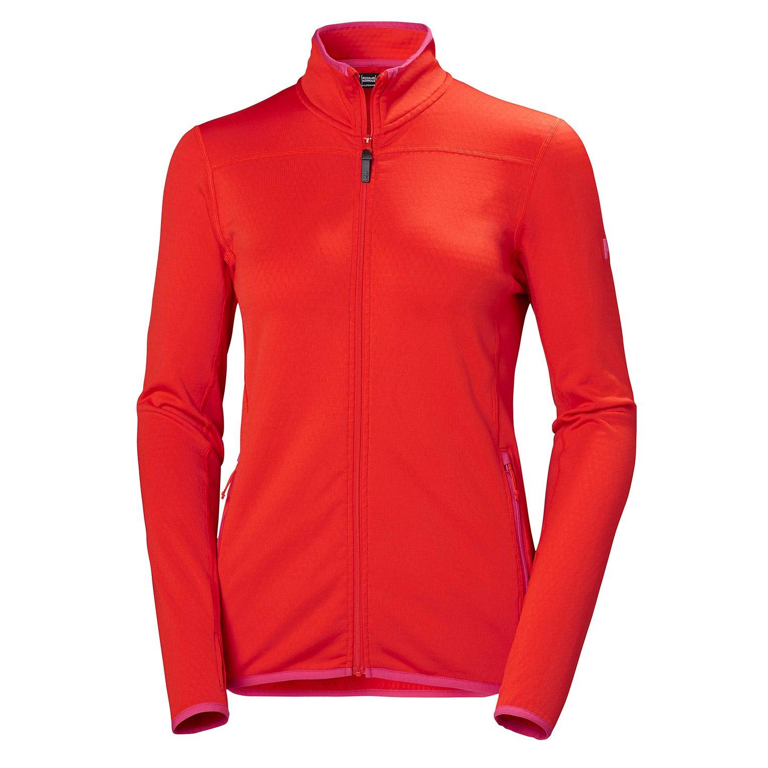 Helly Hansen W Vertex Jacket Womens Fleece Red S
