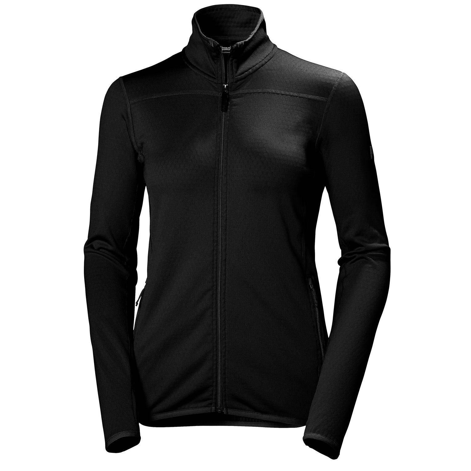 Helly Hansen W Vertex Jacket Womens Fleece Black M