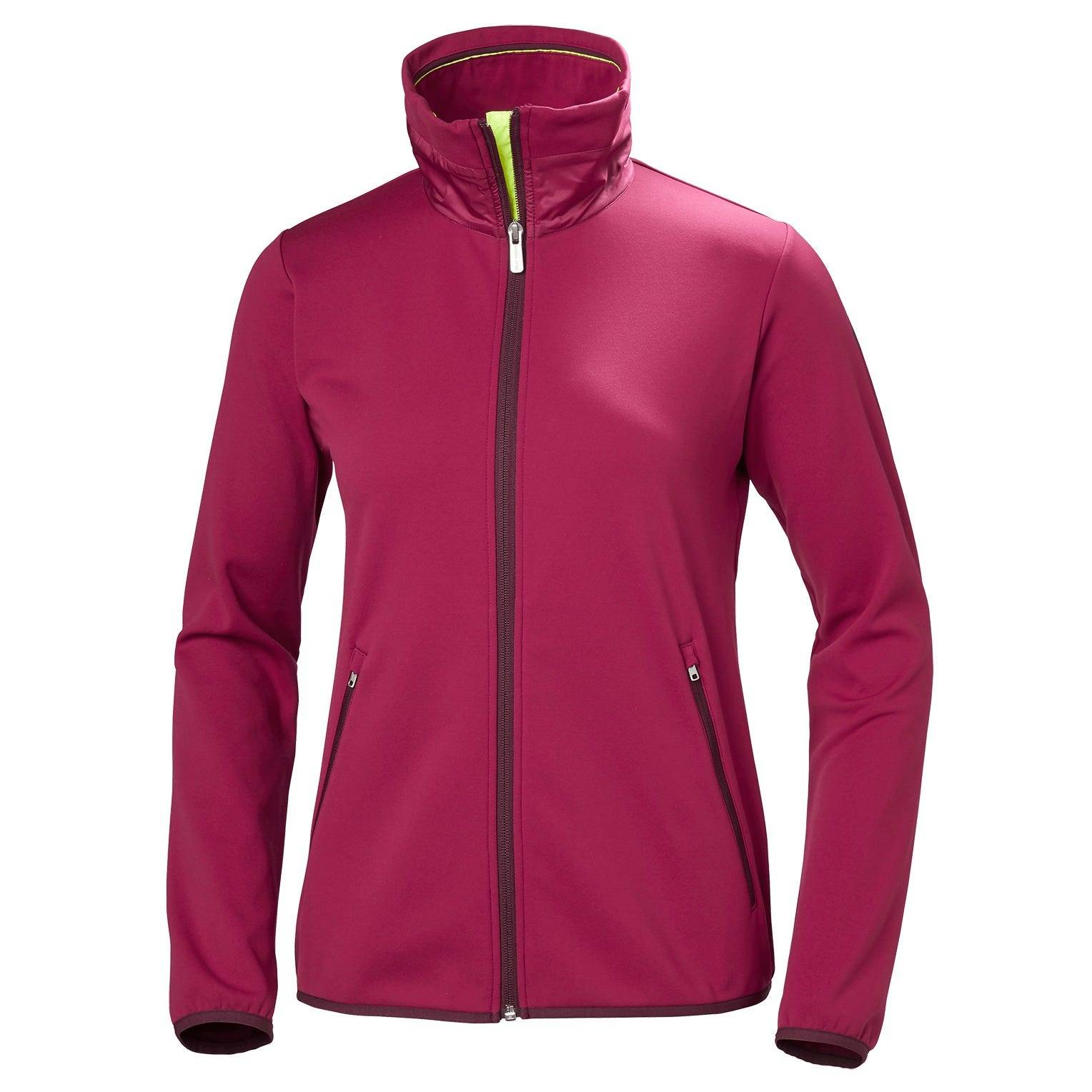 Helly Hansen W Naiad Fleece Jacket Womens Sailing Purple XL