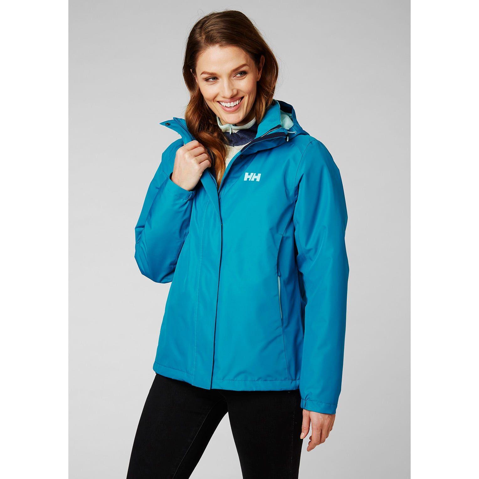 Helly Hansen W Squamish 2.0 Cis Jacket Womens Fleece Yellow XS