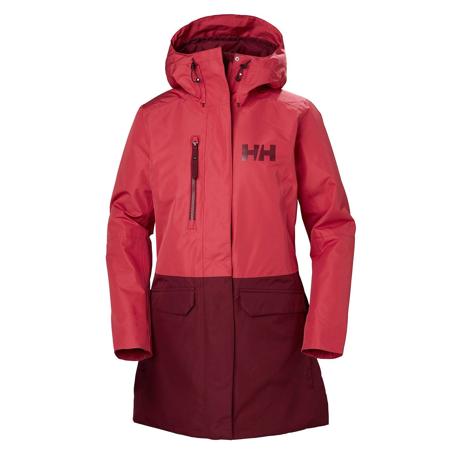 Helly Hansen W Tremone Insulated Coat Womens Rain Jacket Pink S
