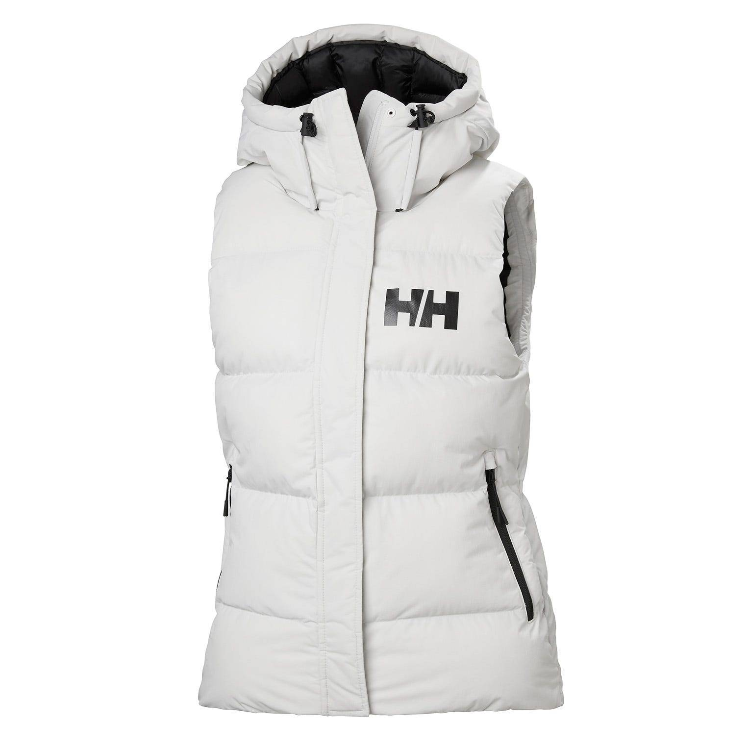 Helly Hansen W Nova Puffy Vest Womens Midlayer White XS