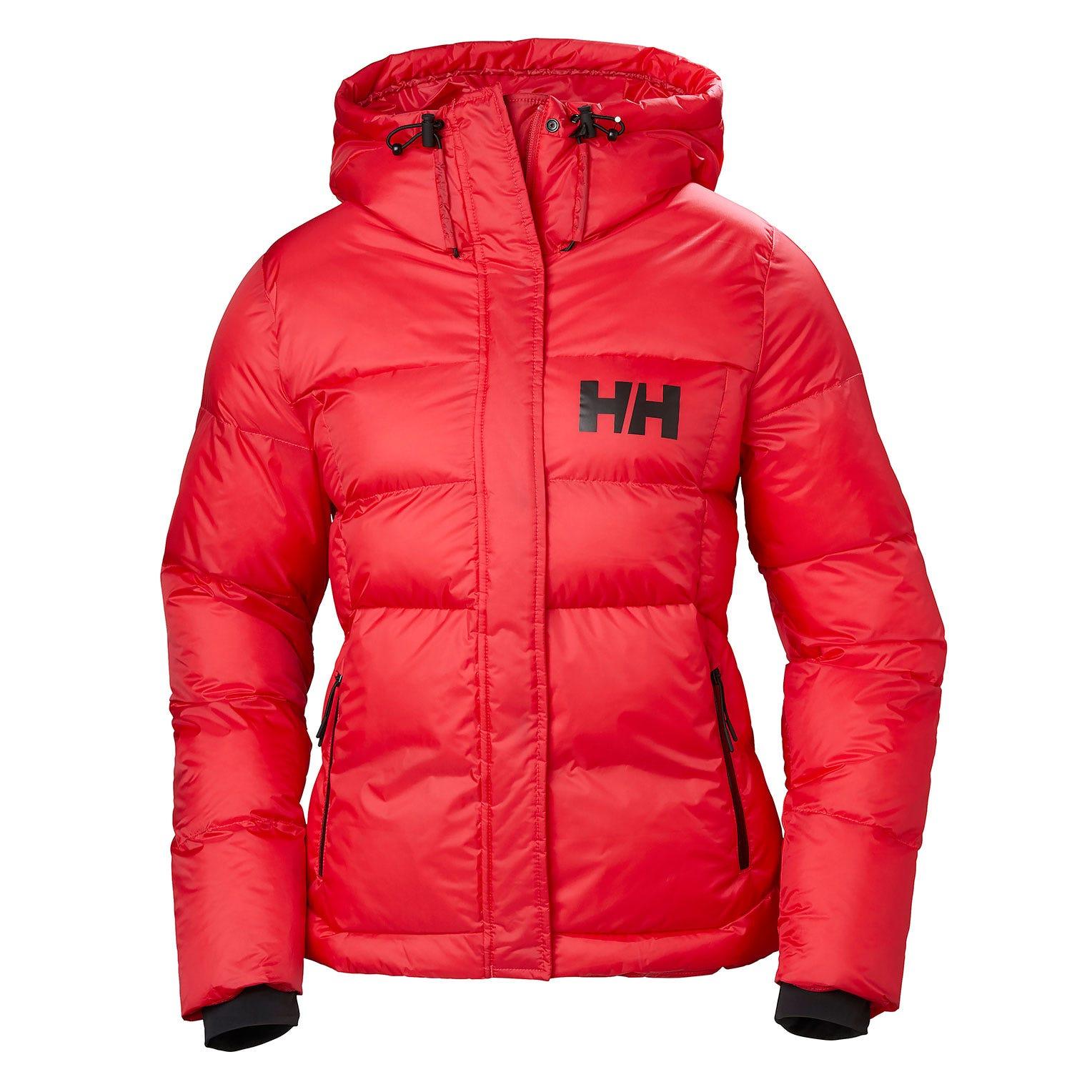 Helly Hansen W Stellar Puffy Jacket Womens Parka Pink S