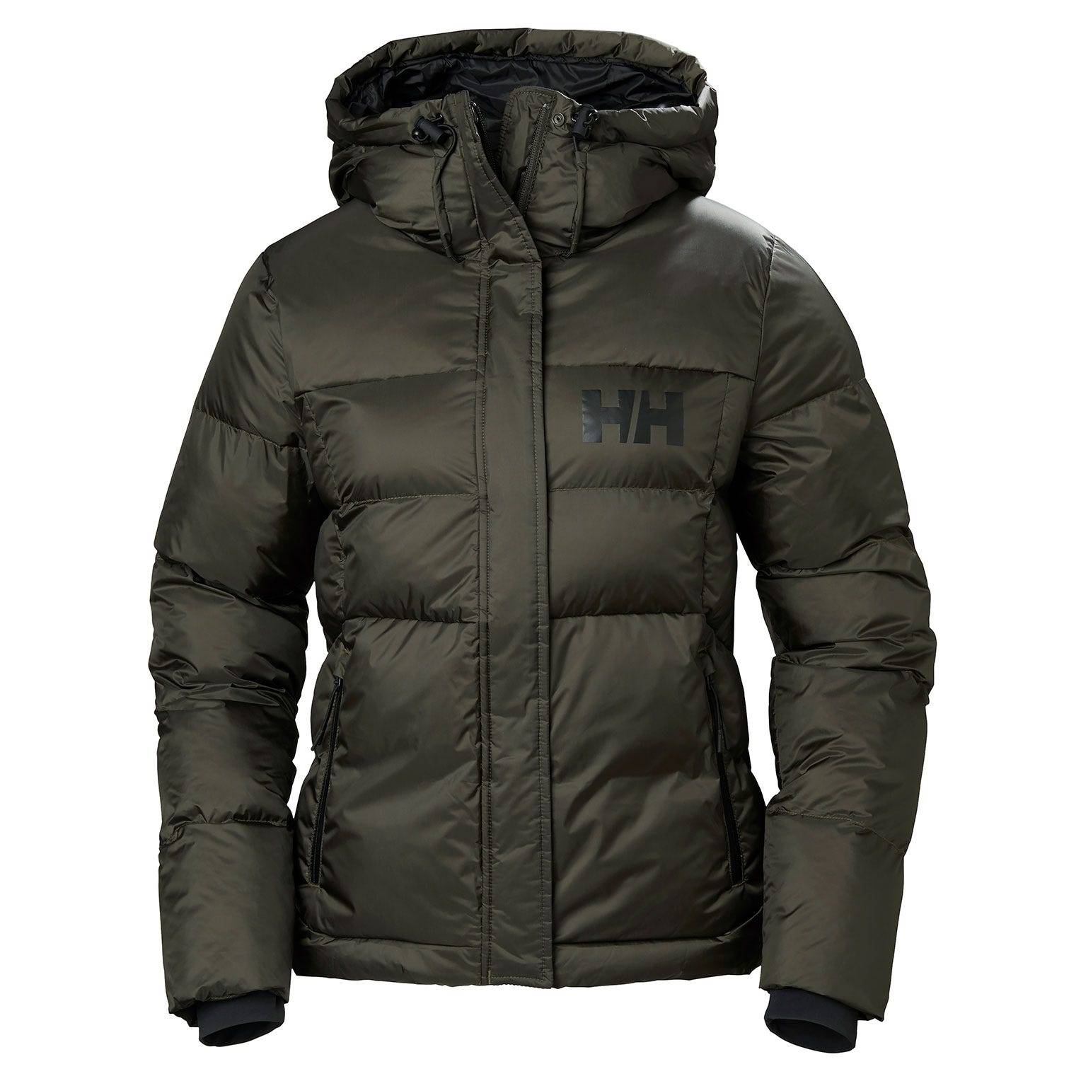 Helly Hansen W Stellar Puffy Jacket Womens Parka Green S