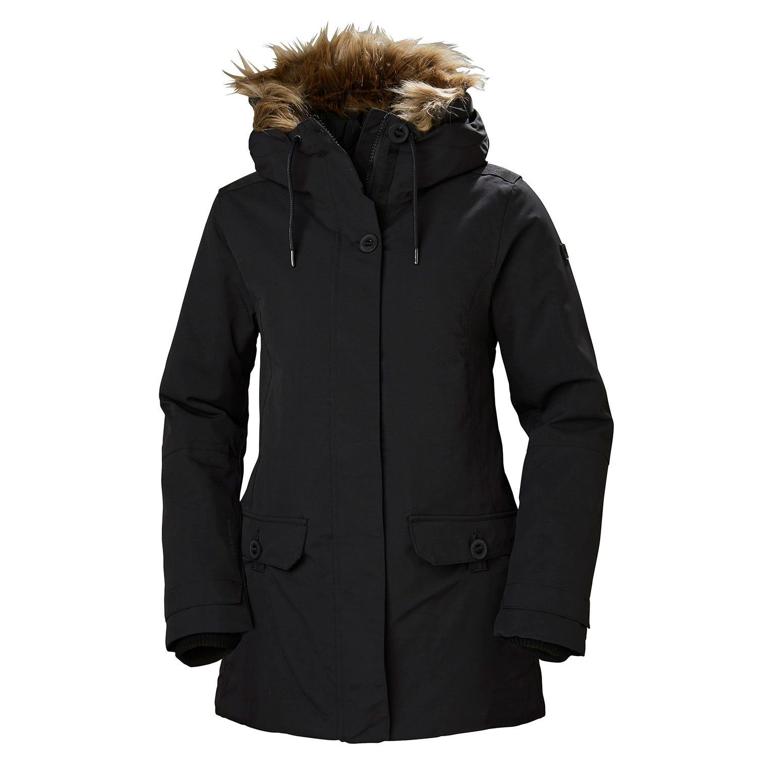 Helly Hansen W Svalbard 2 Parka Womens Black L